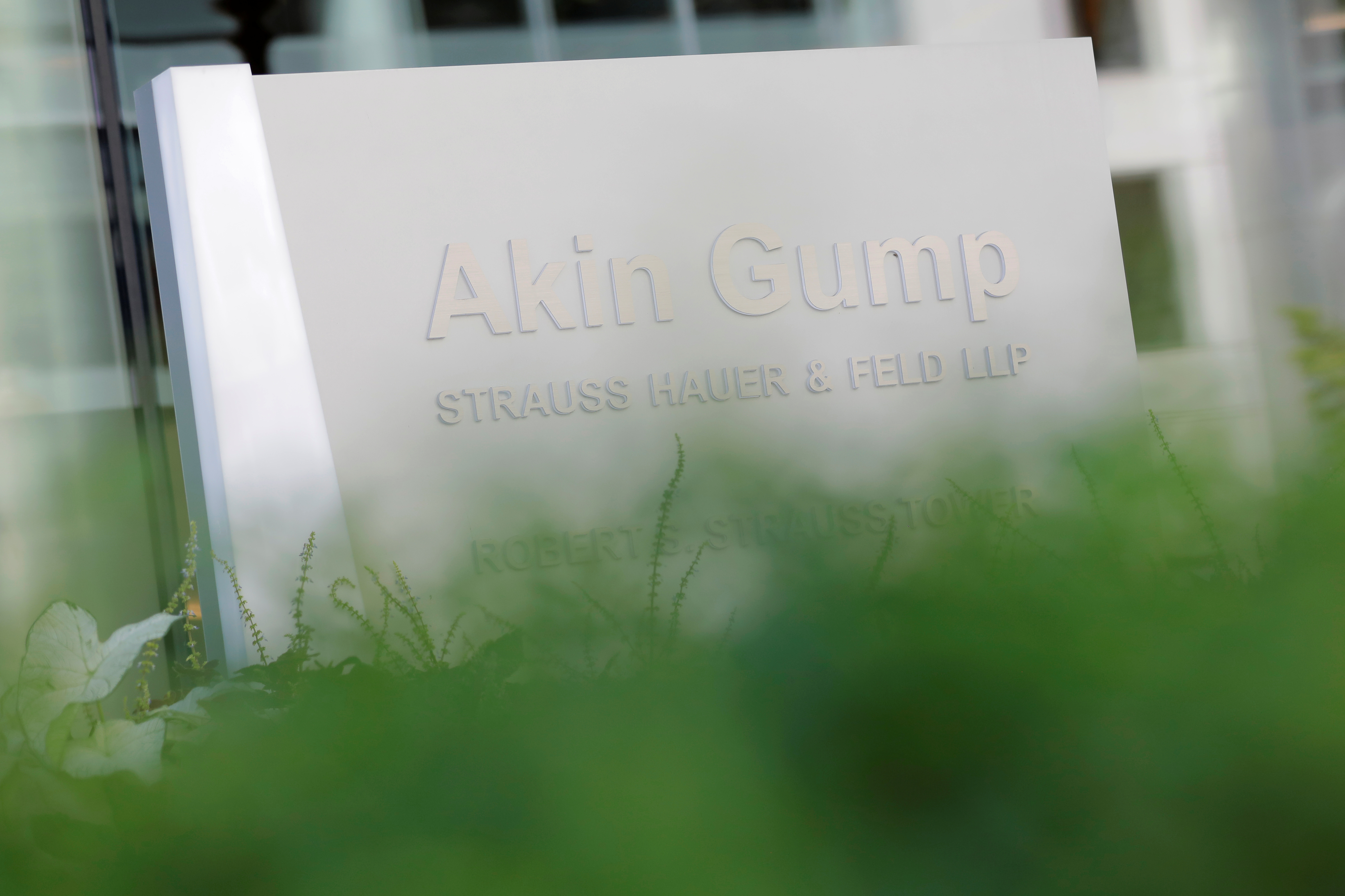 Akin Gump Strauss Hauer & Feld offices in Washington, D.C. REUTERS/Andrew Kelly