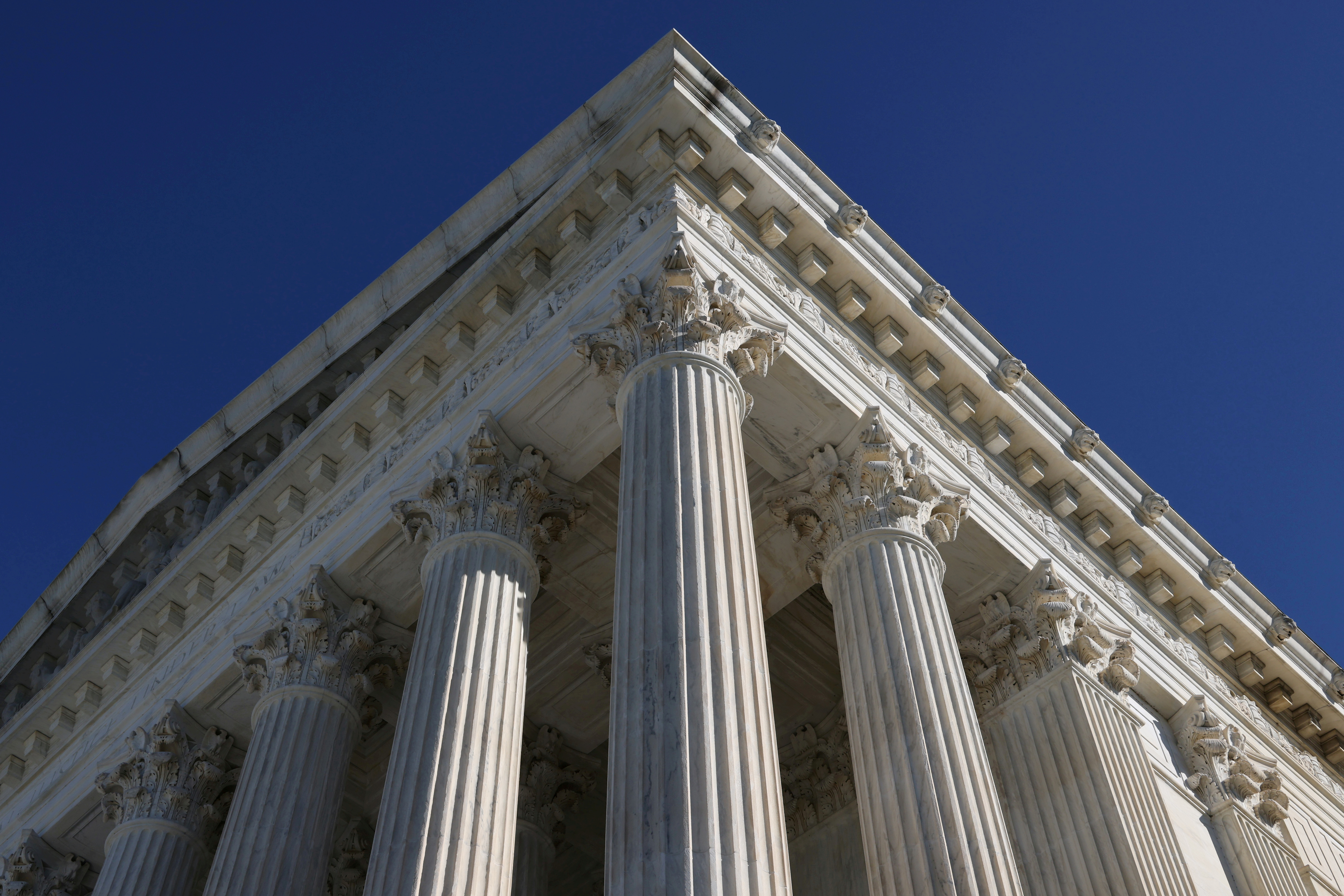 View of the U.S. Supreme Court building in Washington, U.S. November 4, 2020.  REUTERS/Jonathan Ernst/File Photo.  Appellant relied on a 2014 U.S. Supreme Court decision, Lawson v. FMR, which established that Sarbanes-Oxley protects employees of private companies that are contractors for publicly held companies.