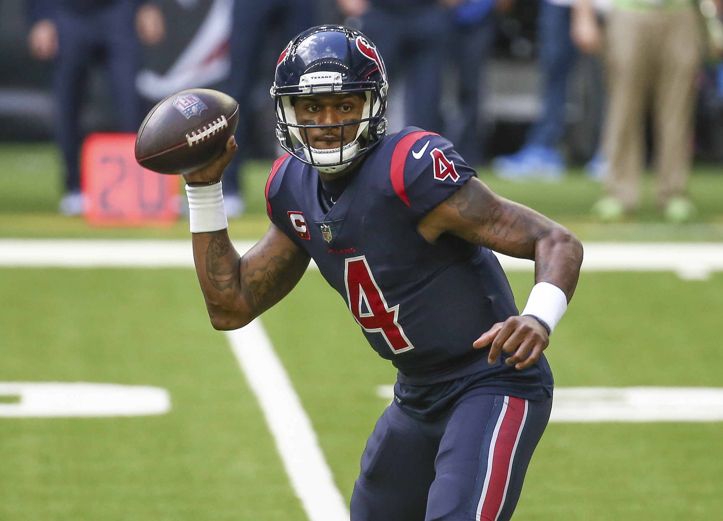 Texans' Deshaun Watson Could be Placed on Paid Leave Following Sexual Assault Allegations