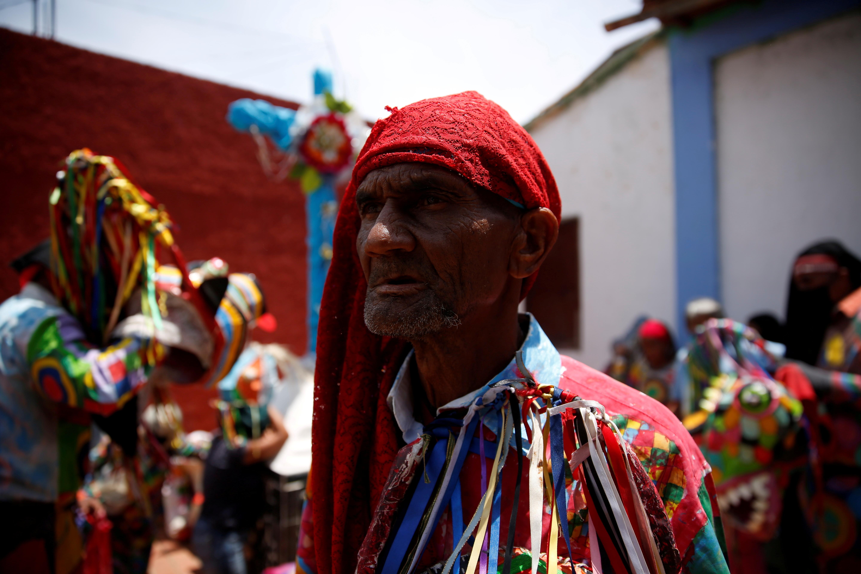 A member of Venezuelan brotherhood