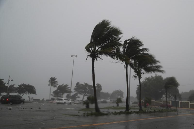 Tropensturms Fred in Santo Domingo, Dominikanische Republik, 11. August   Bildquelle: https://t1p.de/89cw © REUTERS/Ricardo Rojas   Bilder sind in der Regel urheberrechtlich geschützt