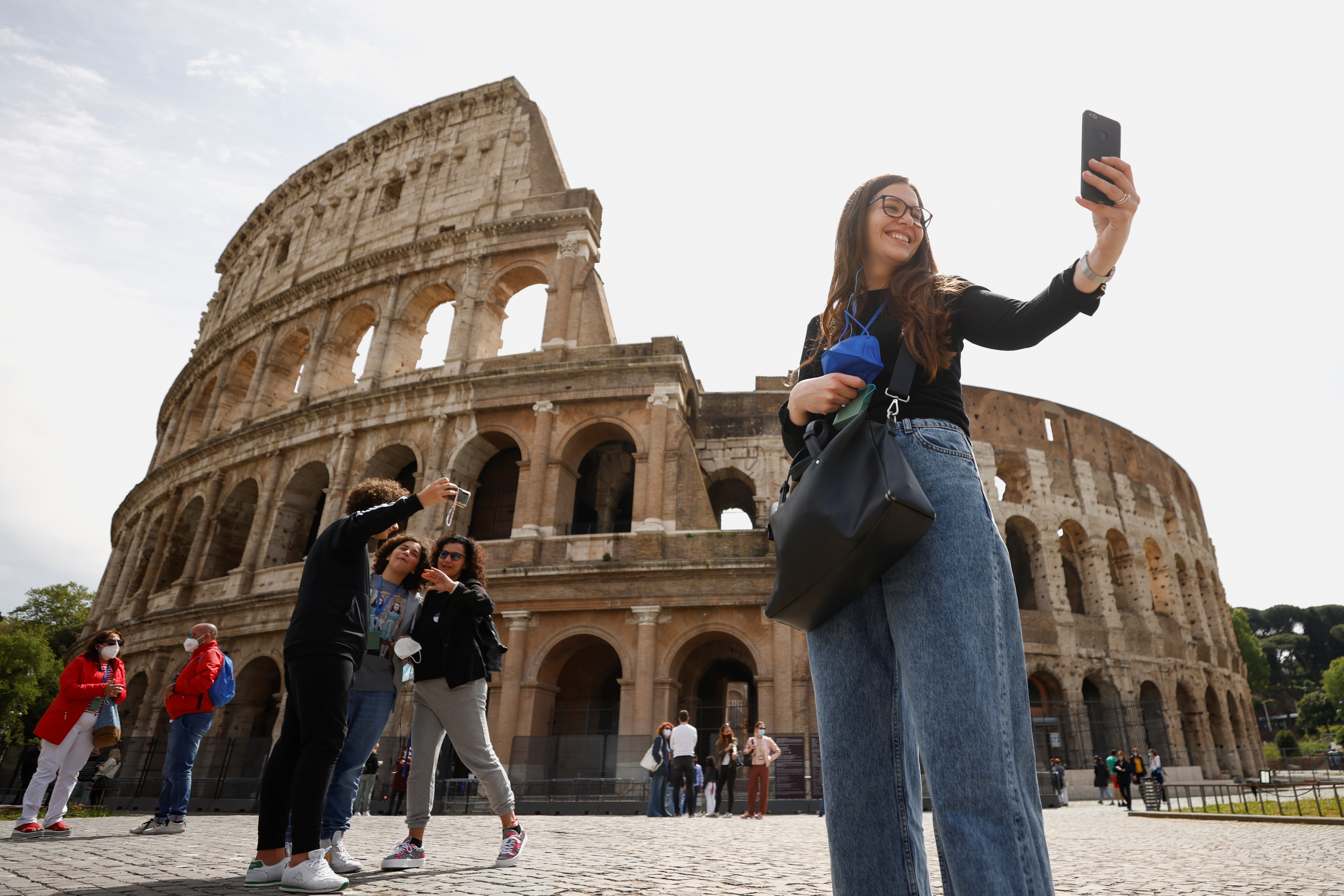 Italy tiptoes towards post COVID normality   Reuters