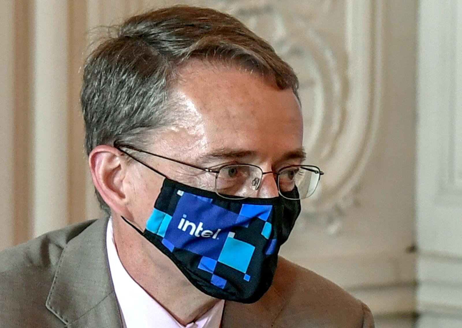 Intel CEO Pat Gelsinger attends an international business leaders' meeting in Versailles, France June 28, 2021.Stephane de Sakutin/Pool via REUTERS/File Photo