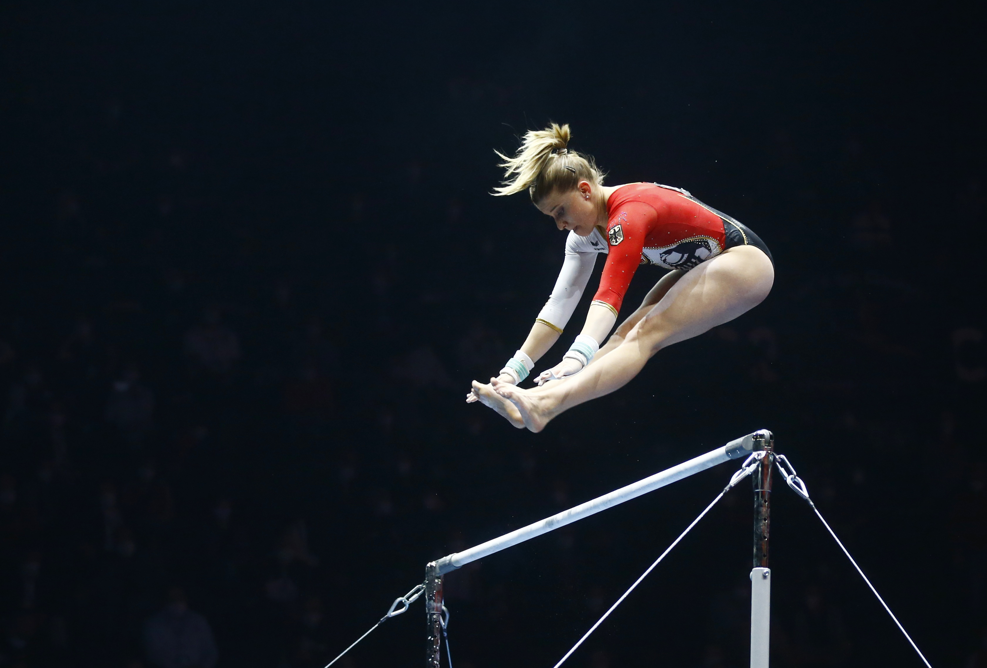 Gymnastics-German women take a stand in full-body suits in Tokyo   Reuters