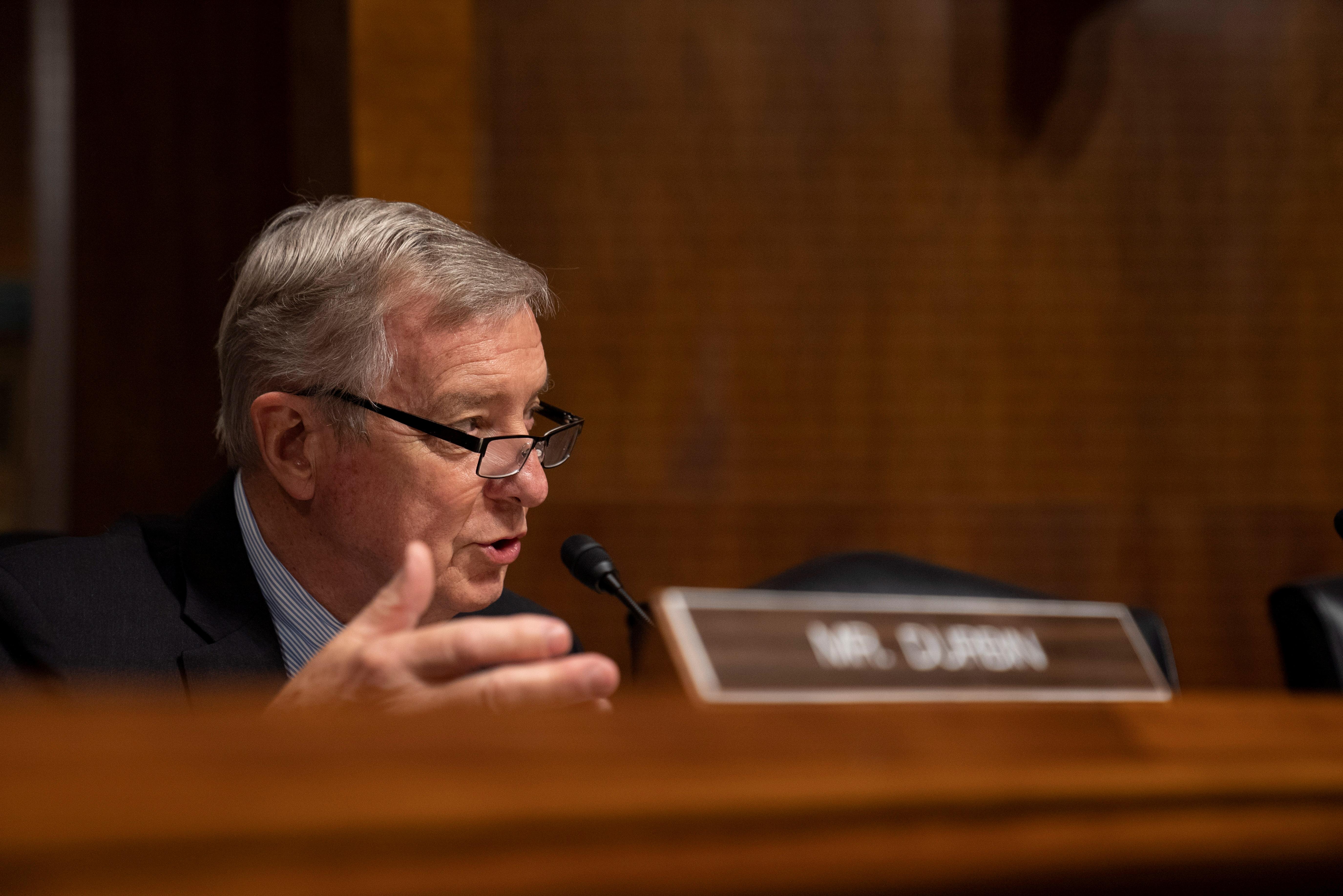 Democrats weigh all options after Republicans block gov't funding bill -Durbin
