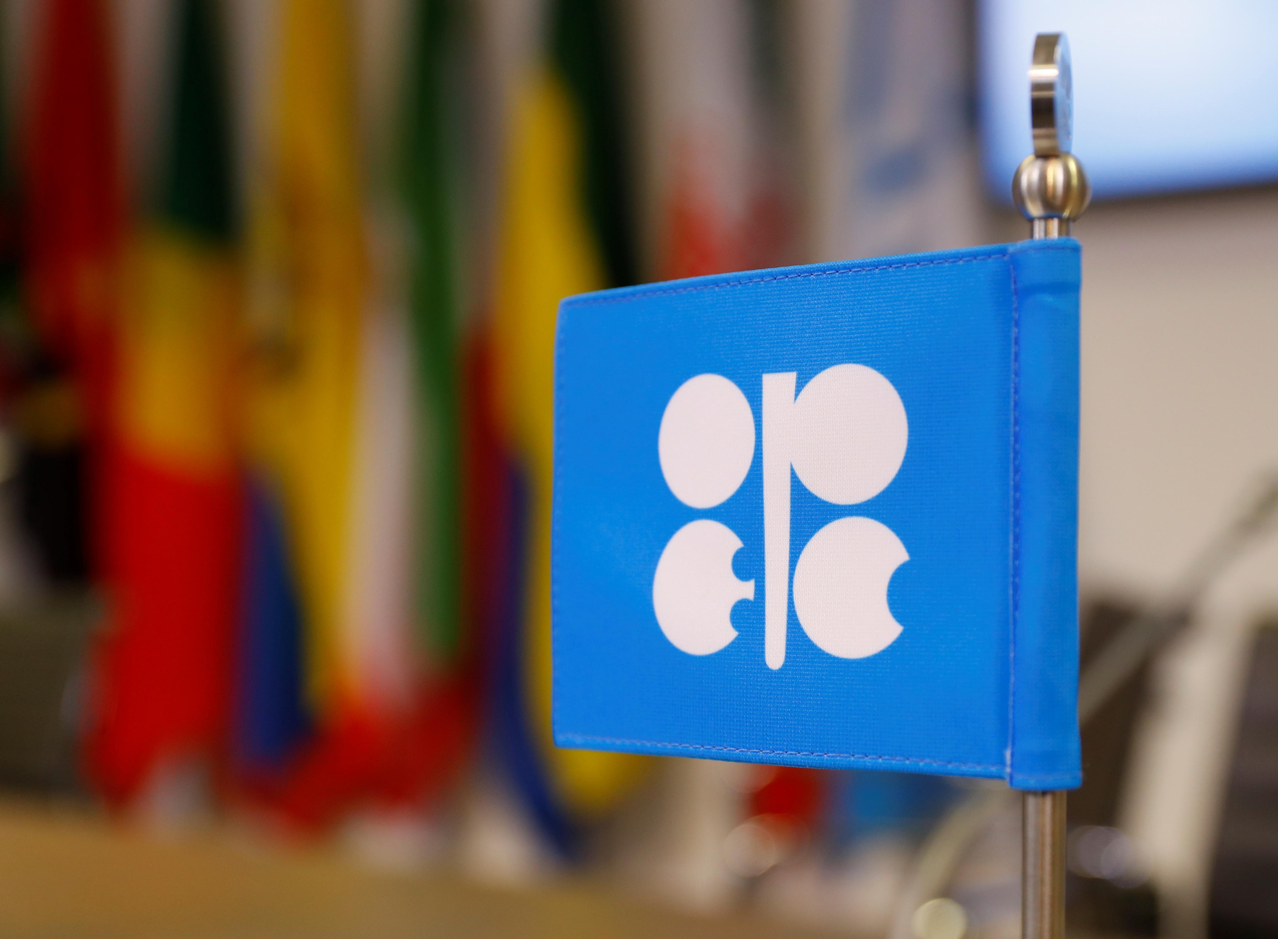 The OPEC logo is seen in Vienna, Austria, December 7, 2018. REUTERS/Leonhard Foeger
