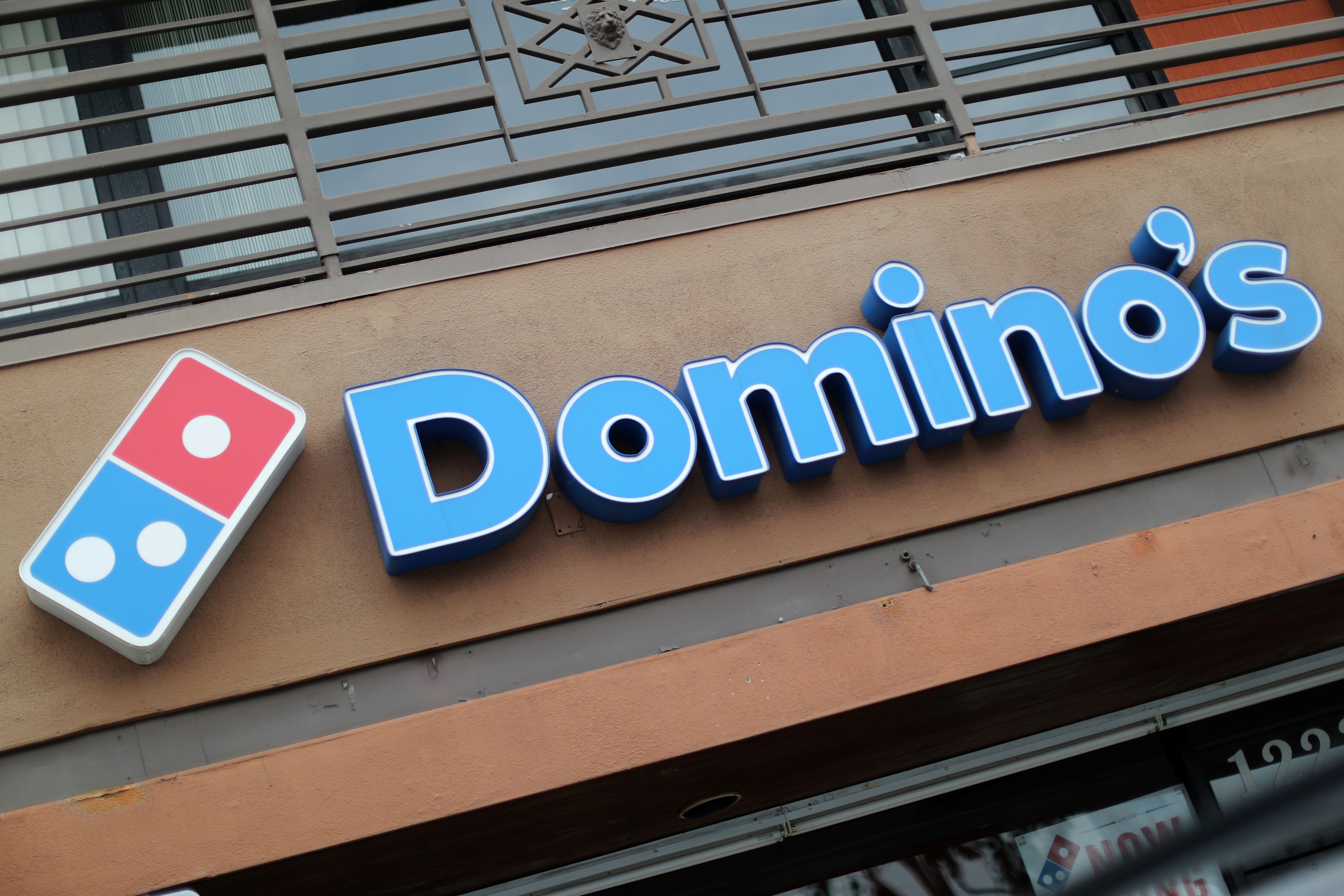 A Domino's Pizza restaurant is seen in Los Angeles, California, U.S. July 18, 2018. REUTERS/Lucy Nicholson