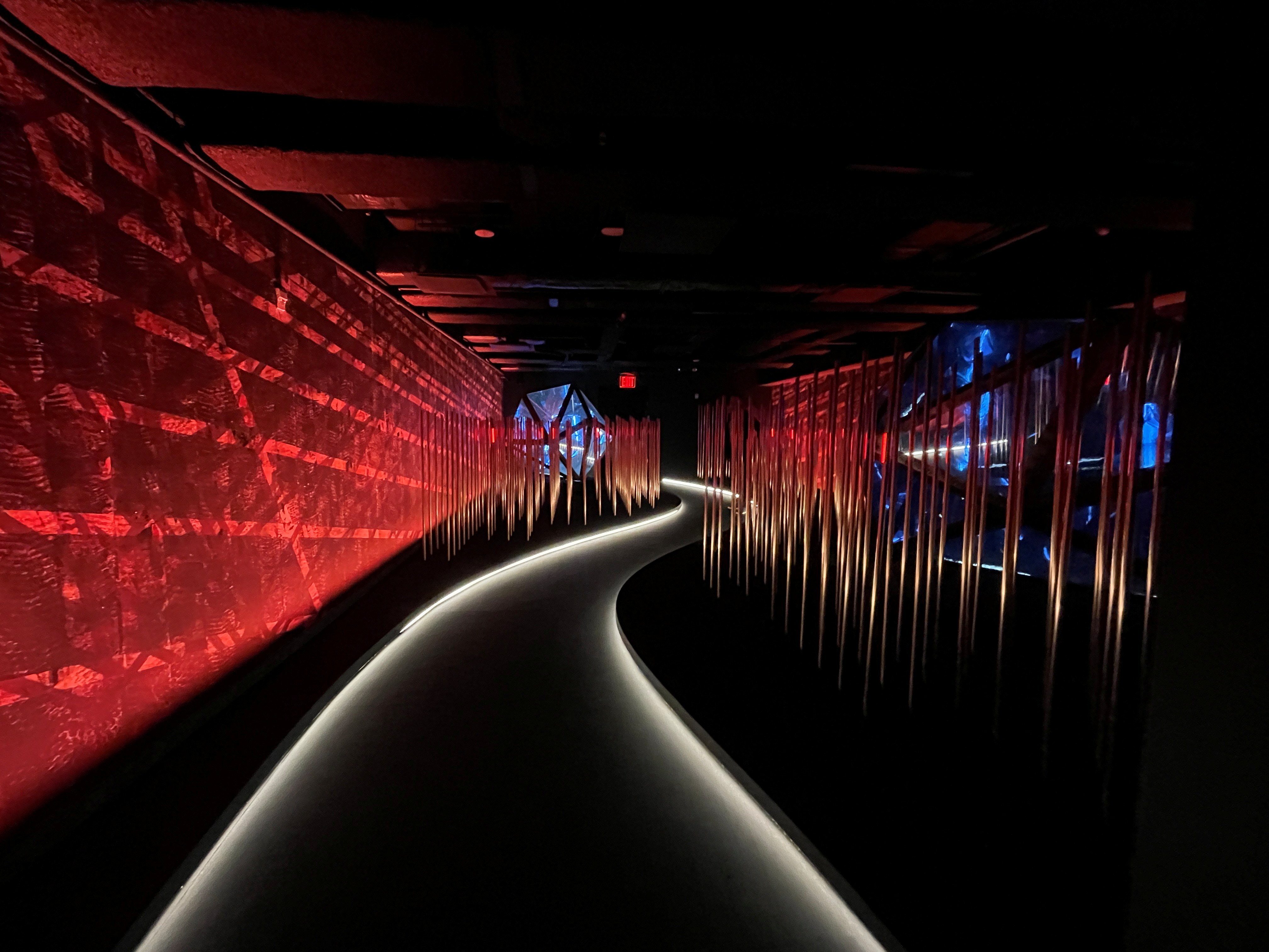 General view of the Great Jones Distilling Co. permanent immersive installation in New York, NY, U.S., September 16, 2021. Picture taken September 16, 2021. REUTERS/Roselle Chen