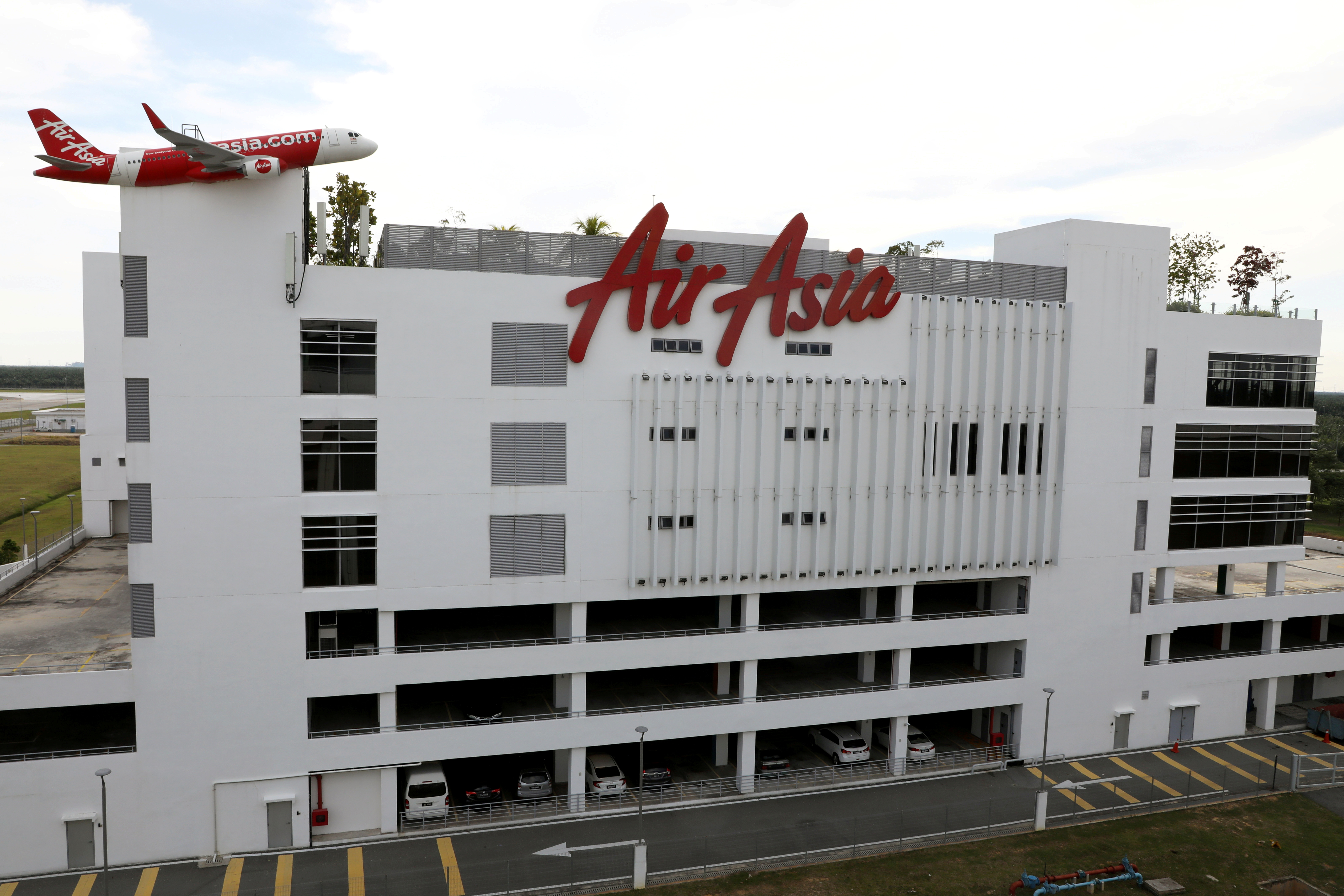 A general view of AirAsia headquarters, amid the coronavirus disease (COVID-19) outbreak in Sepang, Malaysia October 6, 2020. REUTERS/Lim Huey Teng/File Photo