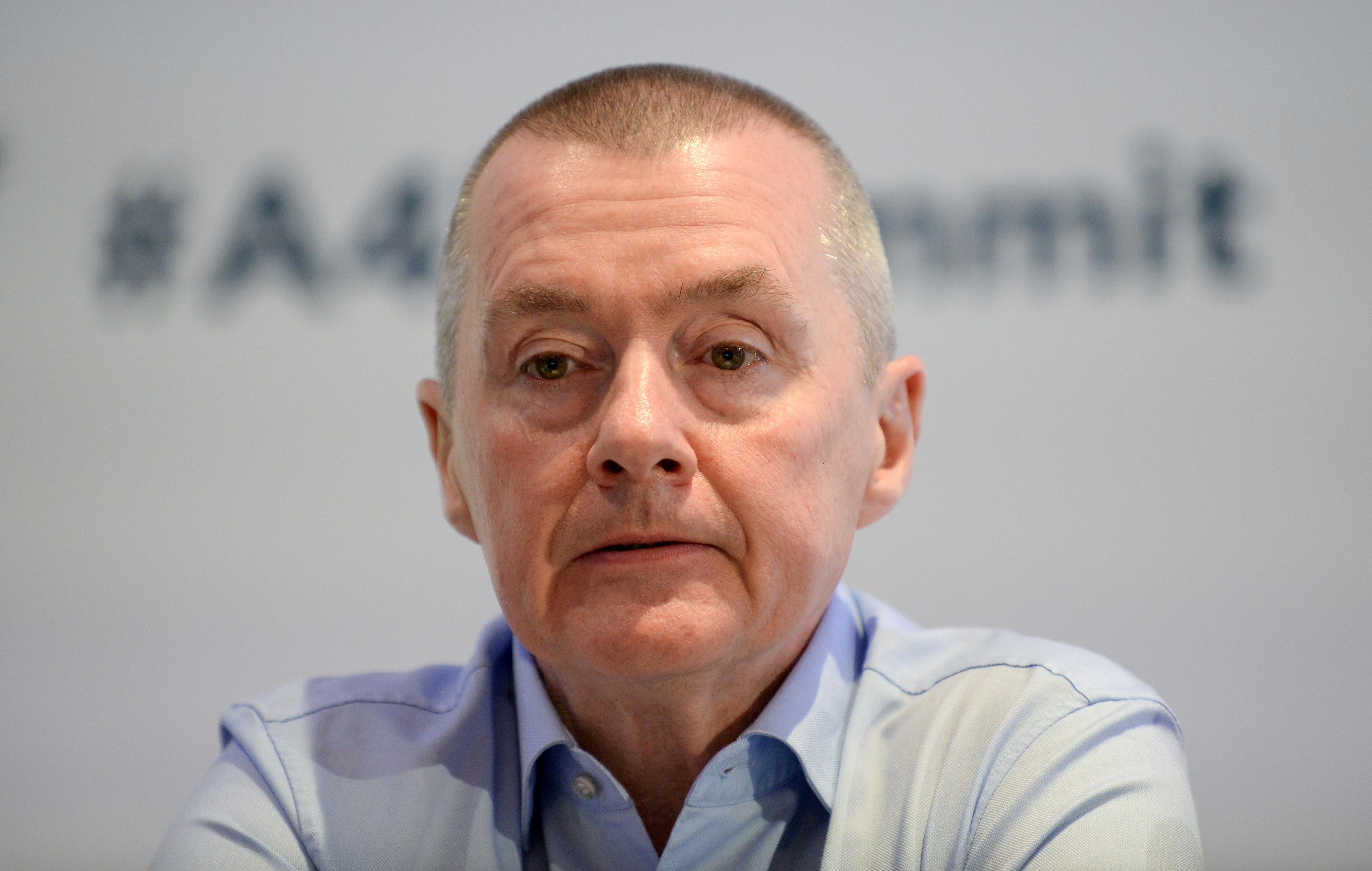 Willie Walsh, head of the International Air Transport Association (IATA), attends a meeting in Brussels, Belgium, March 3, 2020. REUTERS/Johanna Geron