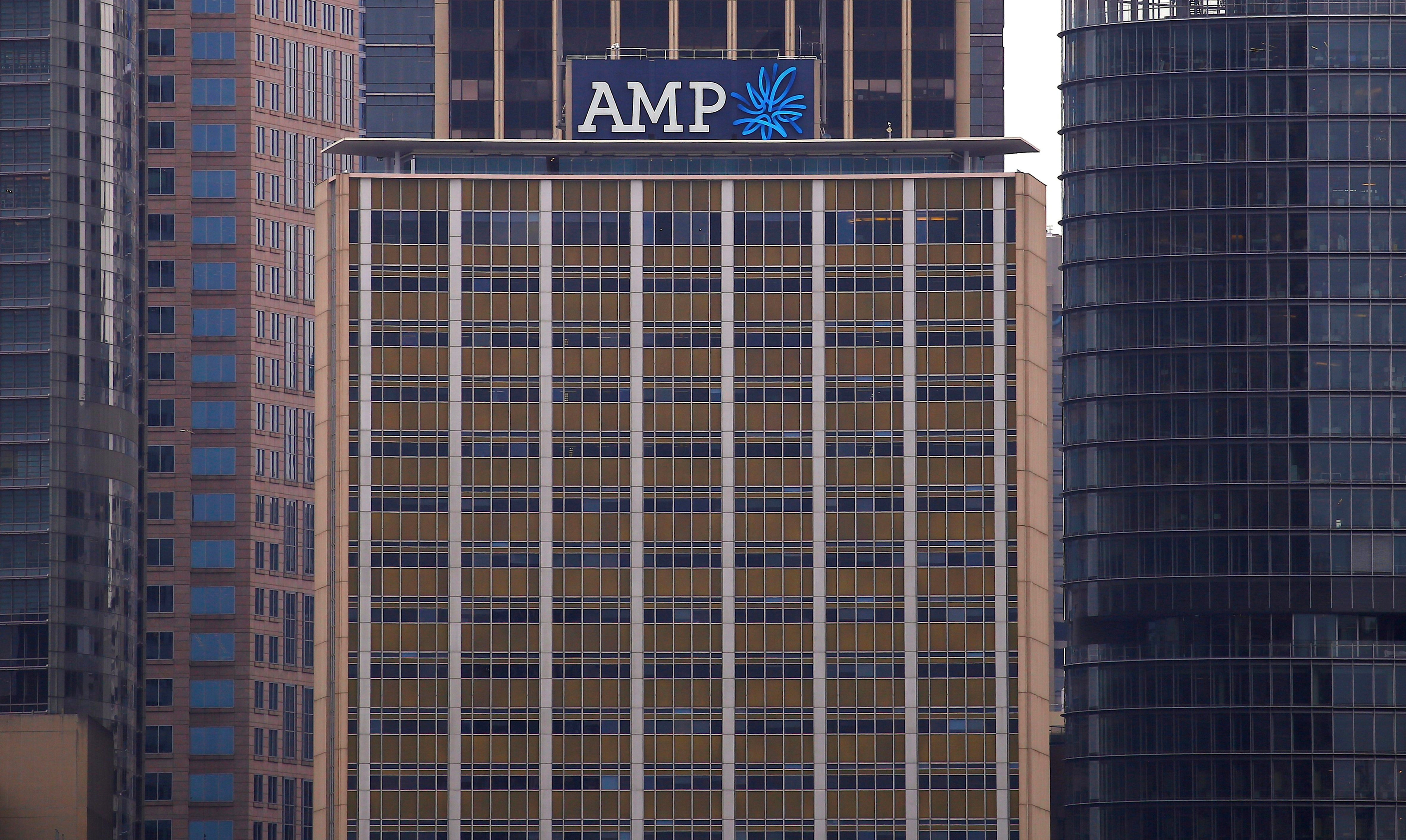 The head office building of AMP Ltd, Australia's biggest retail wealth manager, is seen in central Sydney, Australia, October 28, 2016. REUTERS/David Gray