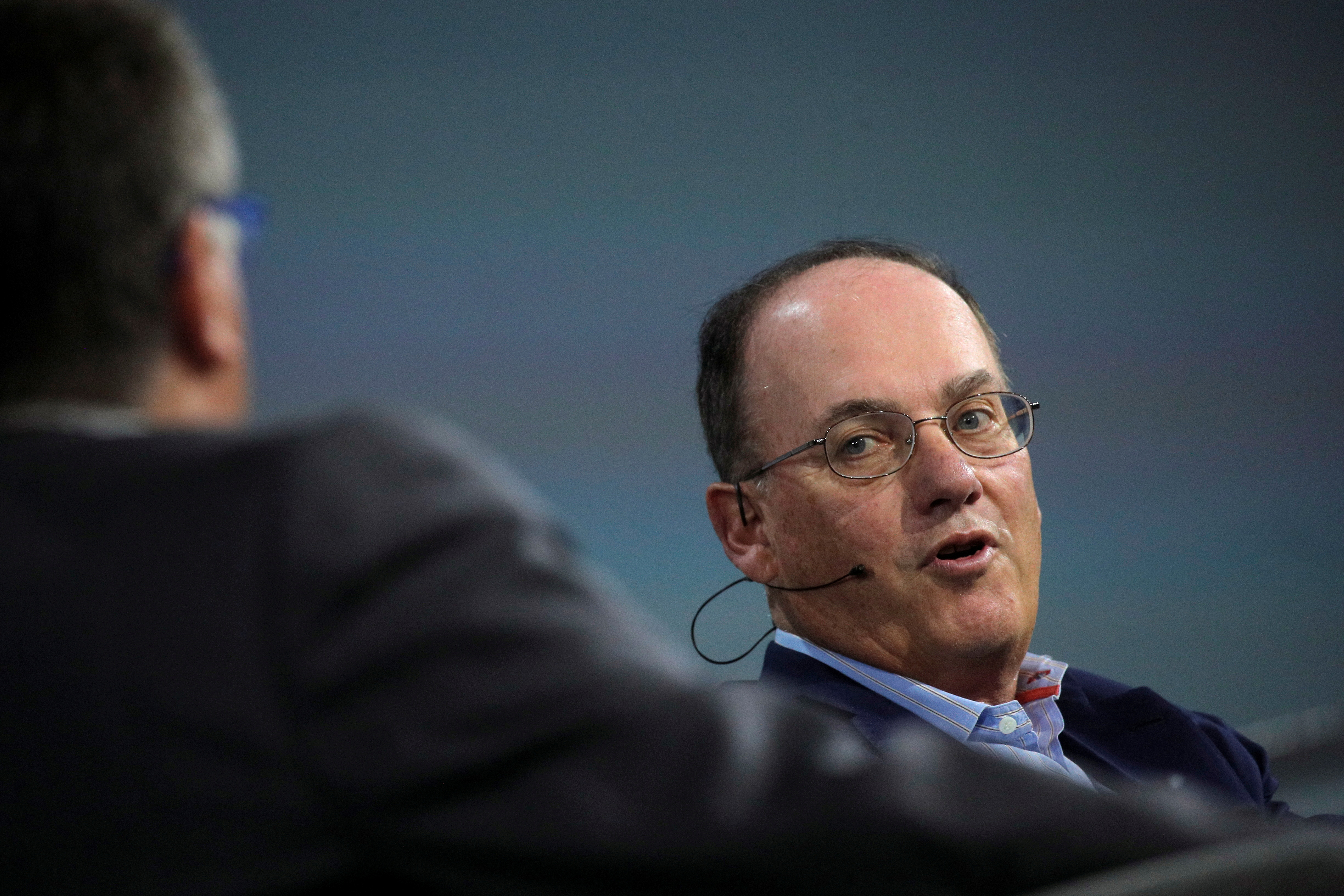 Steven Cohen, Chairman and CEO of Point72 Asset Management, speaks during the Skybridge Capital SALT New York 2021 conference in New York City, U.S., September 13, 2021.  REUTERS/Brendan McDermid/File Photo