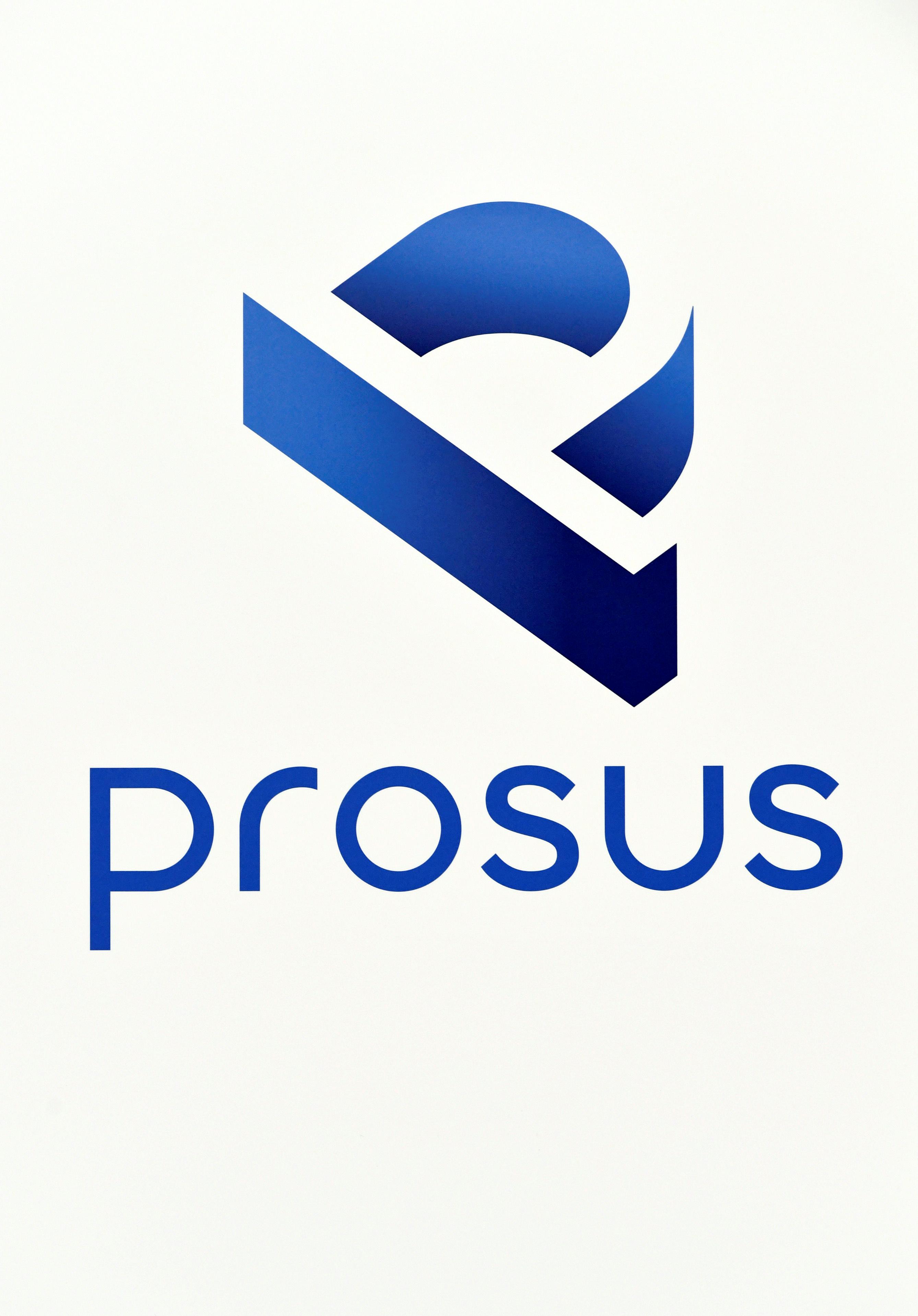 A logo of Prosus is diplayed at Amsterdam's stock exchange building as Prosus begins trading on the Euronext stock exchange in Amsterdam, Netherlands, September 11, 2019. REUTERS/Piroschka van de Wouw