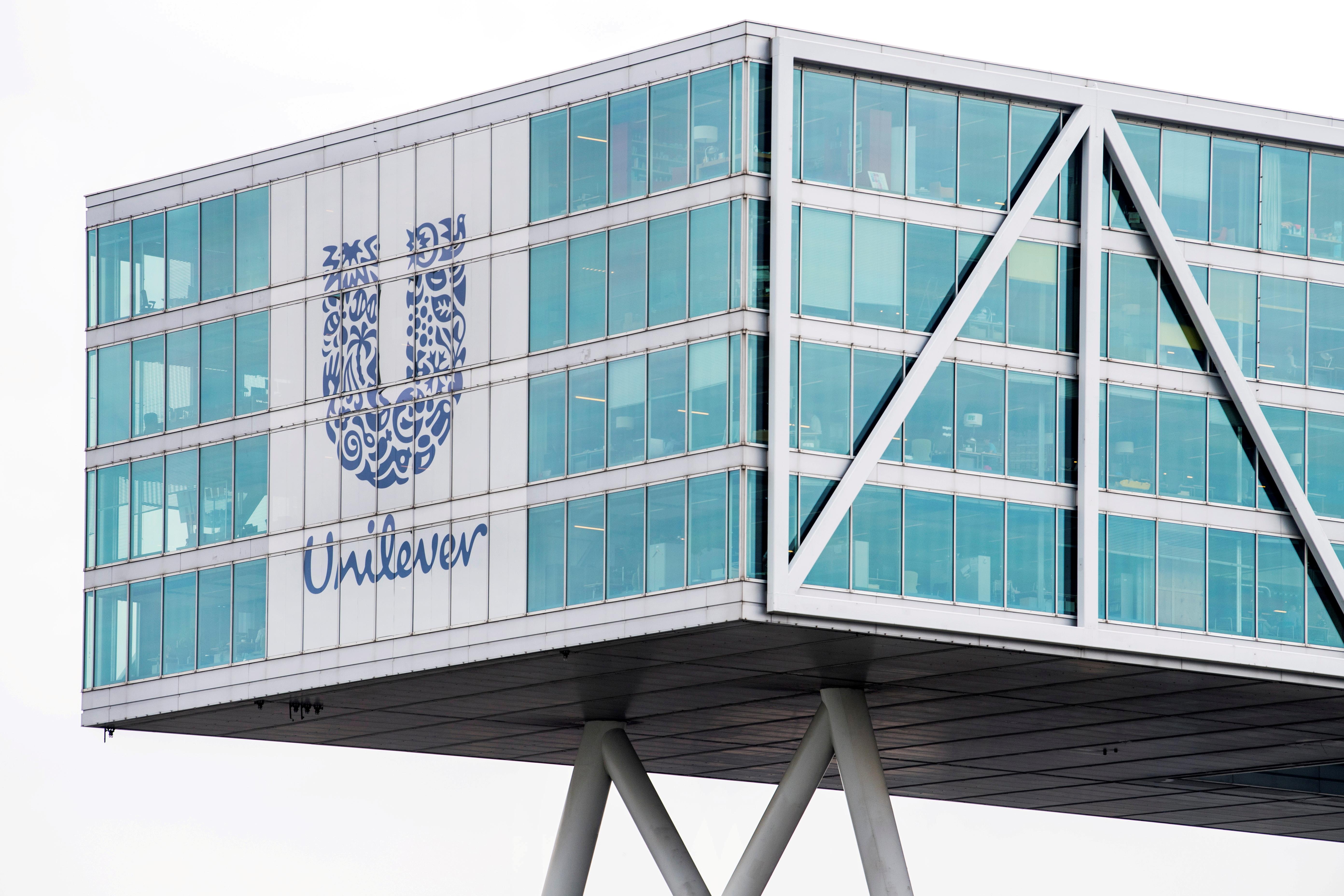 Unilever headquarters in Rotterdam, Netherlands August 21, 2018.   REUTERS/Piroschka van de Wouw