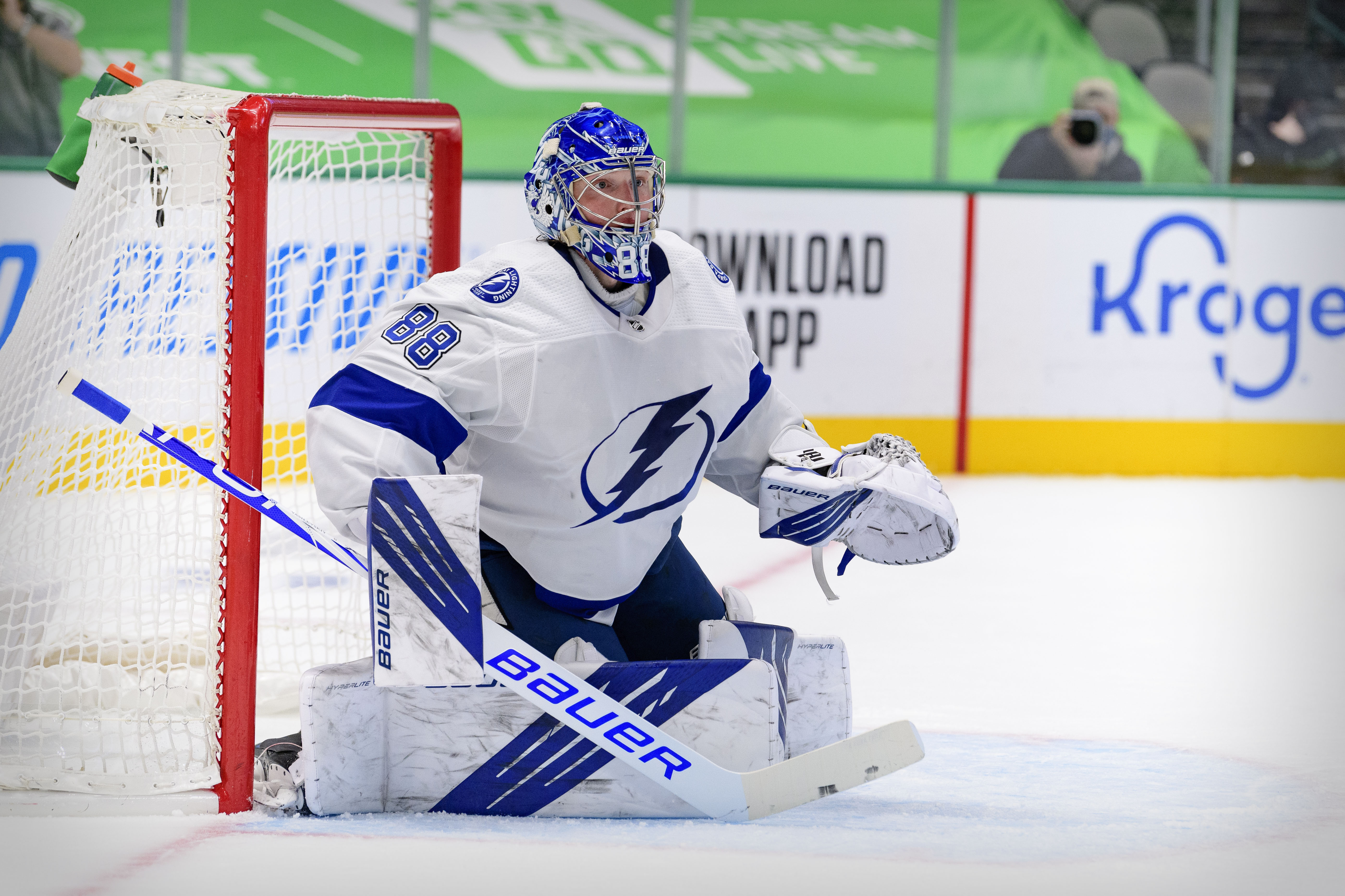 NHL roundup: Lightning's Andrei Vasilevskiy posts third straight ...