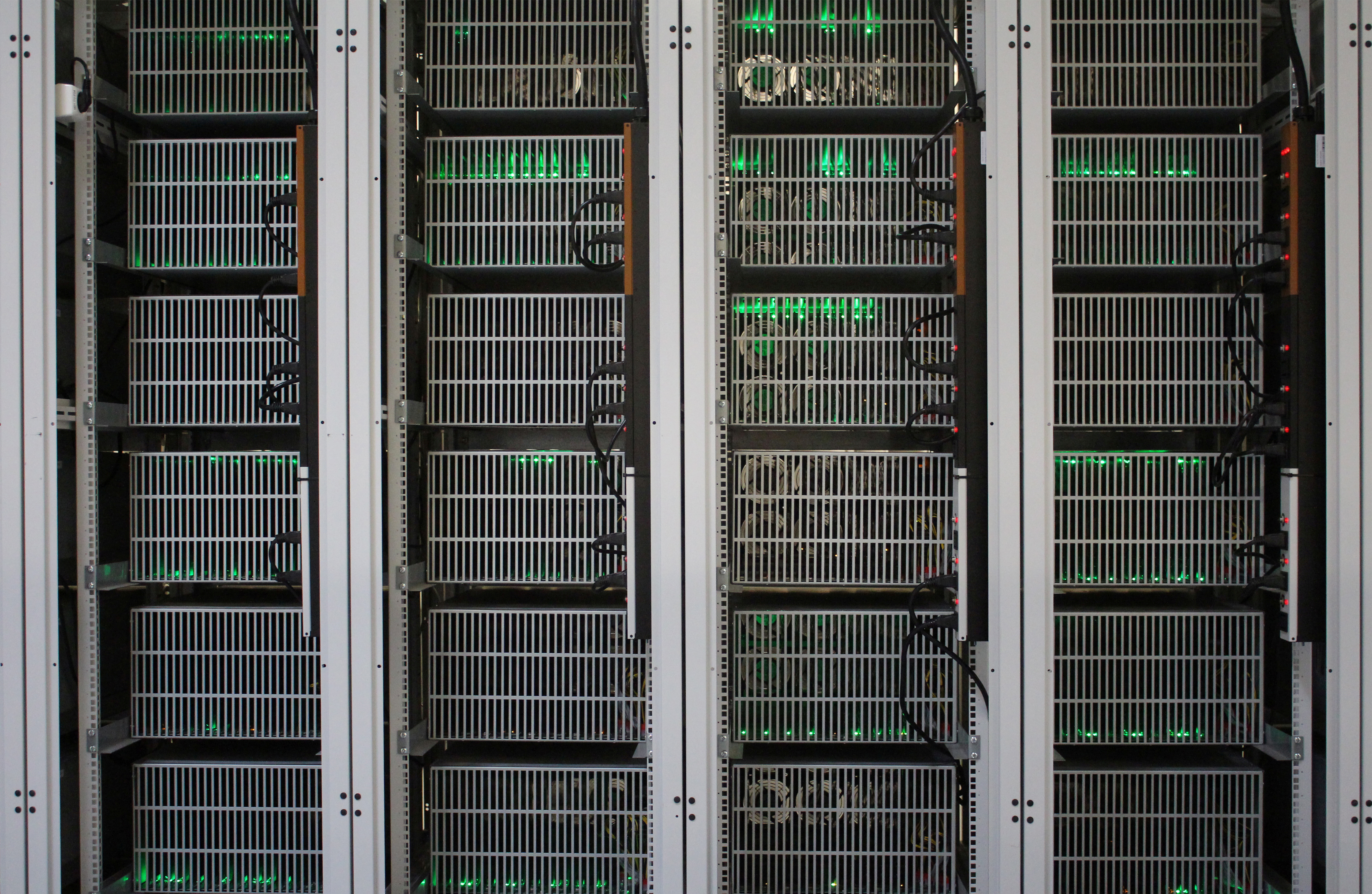 Bitcoin mining computers are pictured in Bitfury's mining farm near Keflavik, Iceland, June 7, 2016. Picture taken June 7, 2016. REUTERS/Jemima Kelly/File Photo