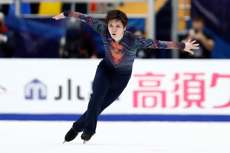 ISU Grand Prix of Figure Skating - 2019 Rostelecom Cup - Men's Short Program - Megasport Sport Palace, Moscow, Russia - November 15, 2019   Japan's Shoma Uno performs   REUTERS/Maxim Shemetov/File Photo