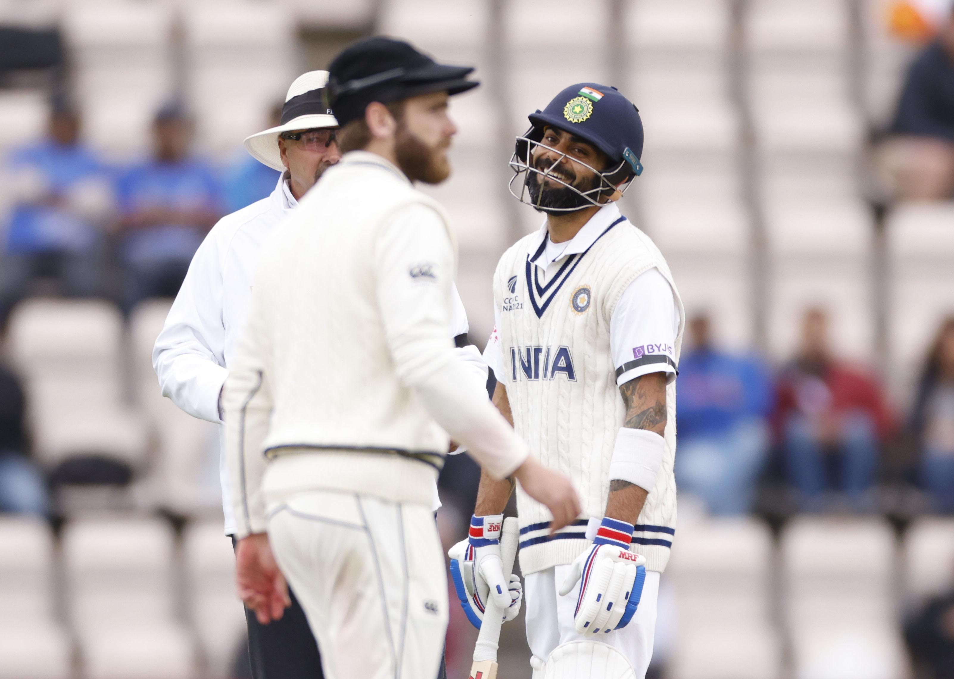 Cricket - ICC World Test Championship Final - India v New Zealand - Rose Bowl, Southampton, Britain - June 19, 2021  India's Virat Kohli reacts Action Images via Reuters/John Sibley