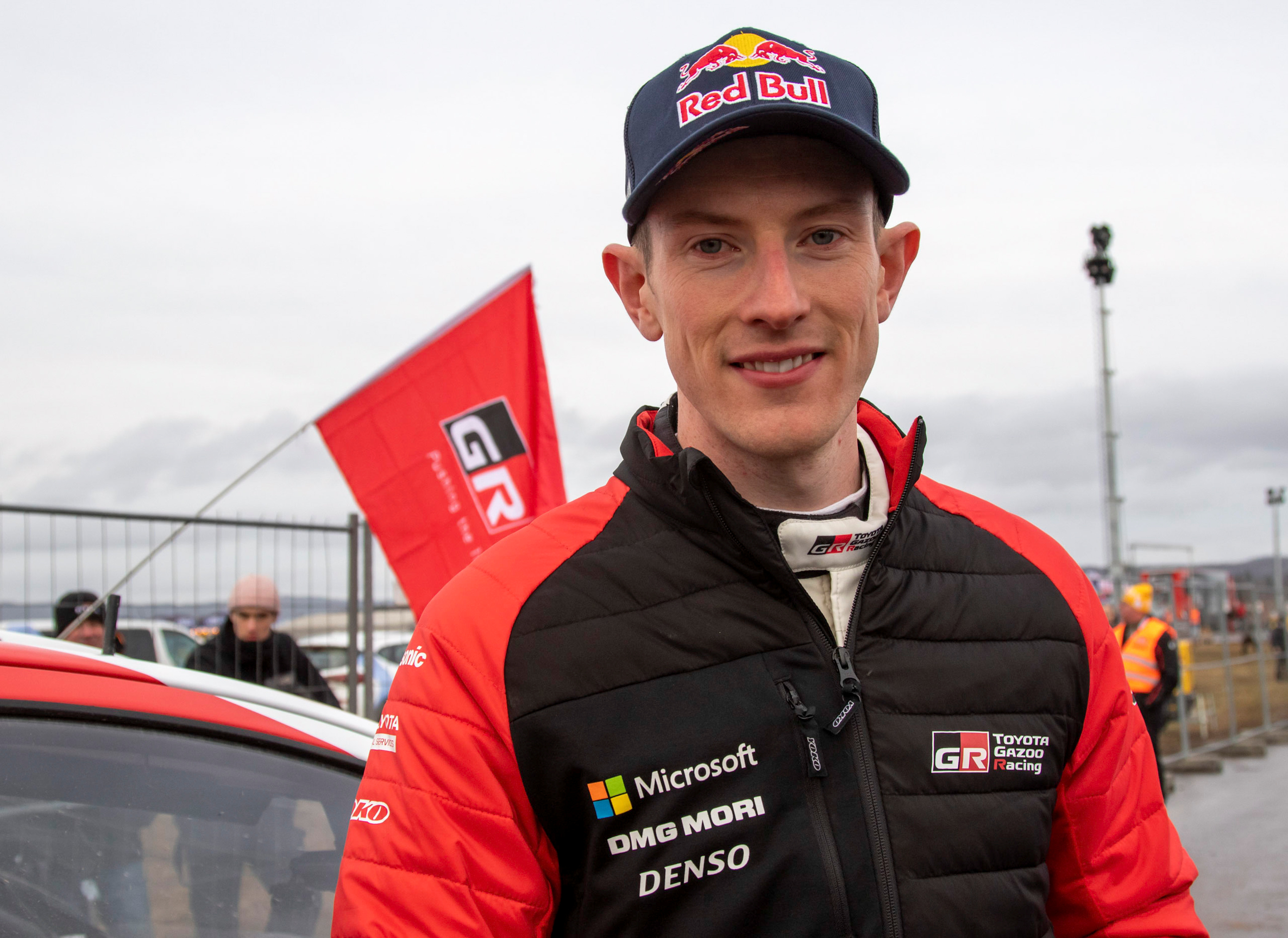 FIA World Rally Championship - Rally Sweden - Second Round - Torsby, Sweden - February 16, 2020. Elfyn Evans of Britain poses. Micke Fransson/TT News Agency/via REUTERS