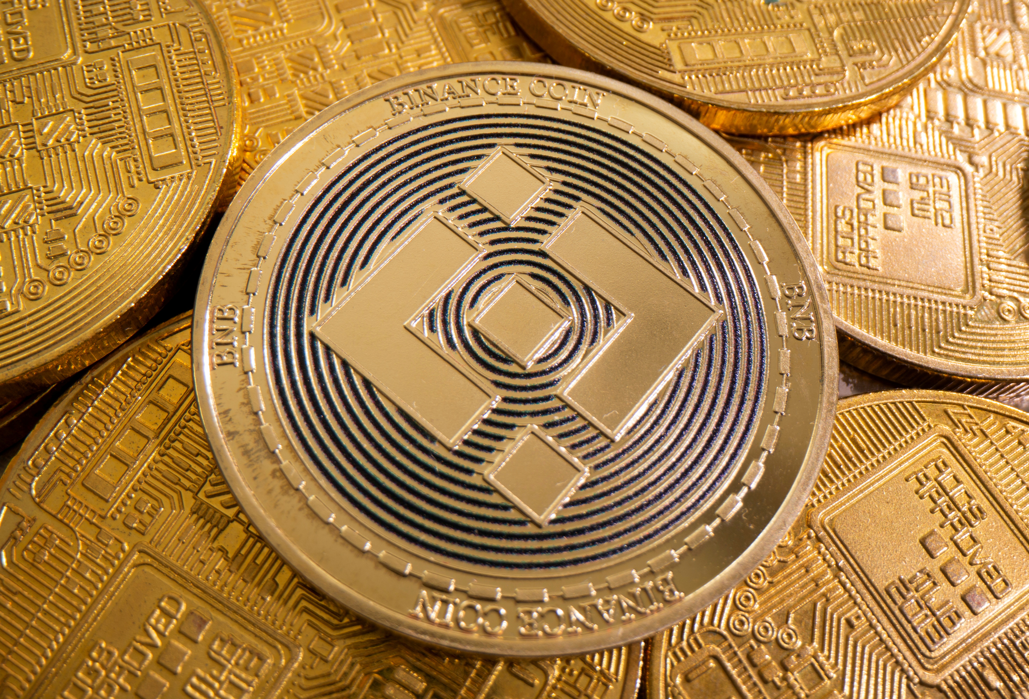 A representation of cryptocurrency Binance is seen in this illustration taken August 6, 2021. REUTERS/Dado Ruvic/Illustration/File Photo