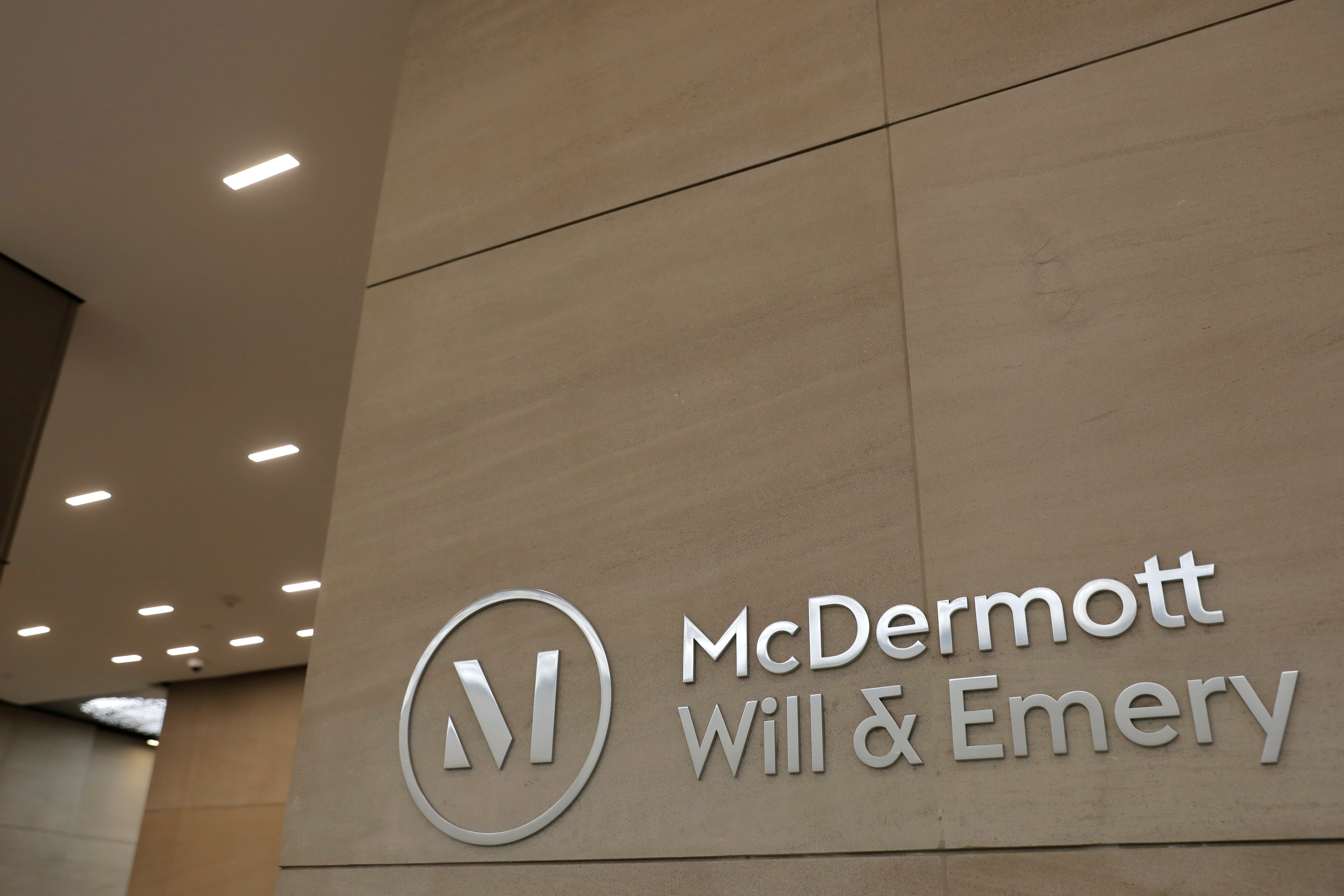 The legal offices of McDermott Will & Emery in New York, U.S. REUTERS/Andrew Kelly