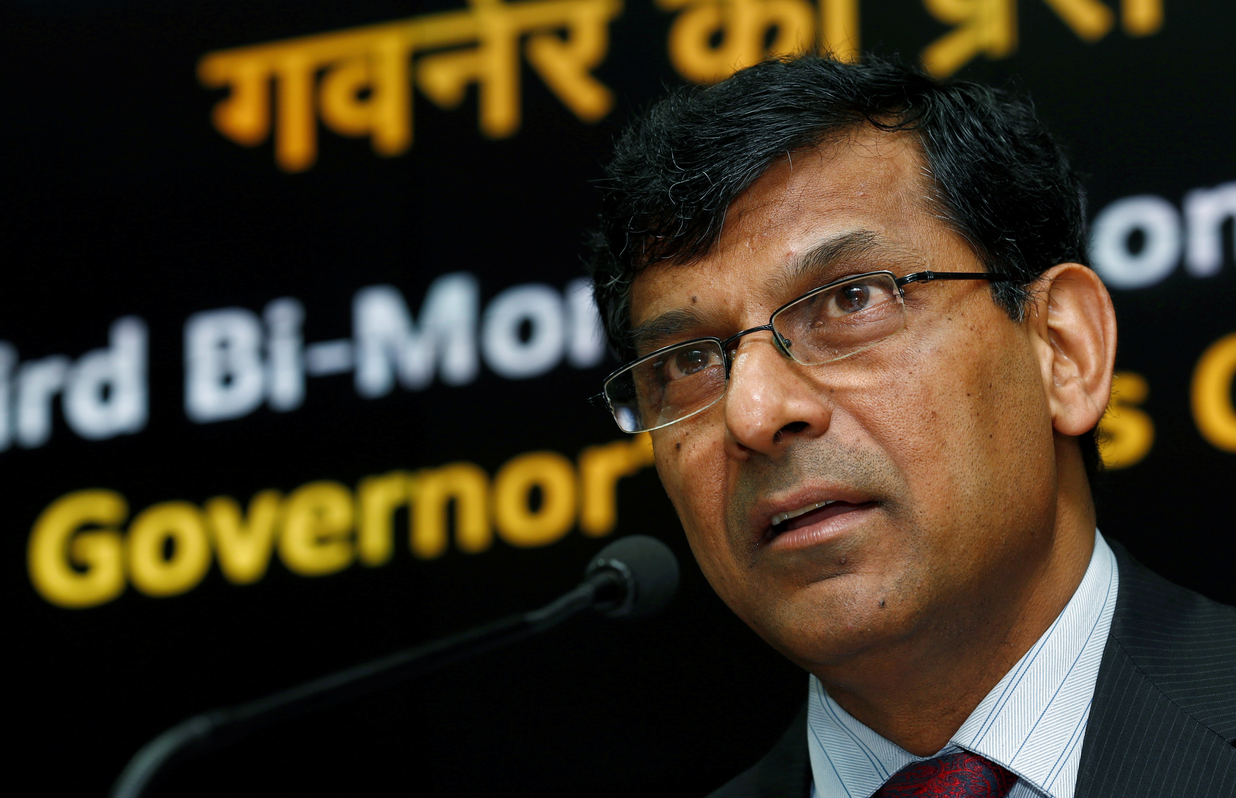 Former Reserve Bank of India (RBI) Governor Raghuram Rajan speaks during a news conference at the RBI headquarters in Mumbai, India, August 9, 2016. REUTERS/Danish Siddiqui