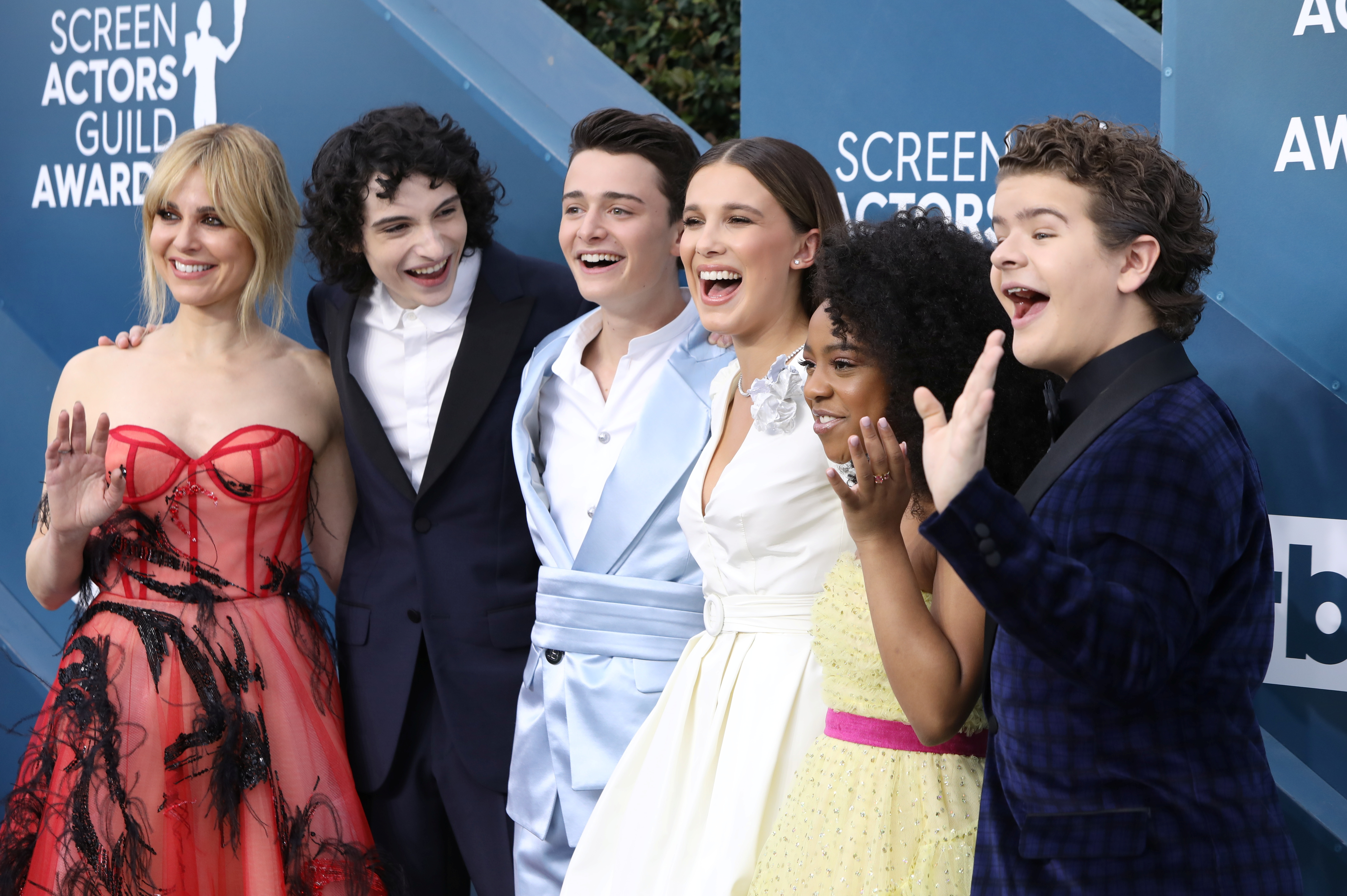 26th Screen Actors Guild Awards – Arrivals – Los Angeles, California, U.S., January 19, 2020 – Cast of Stranger Things. REUTERS/Monica Almeida/File Photo
