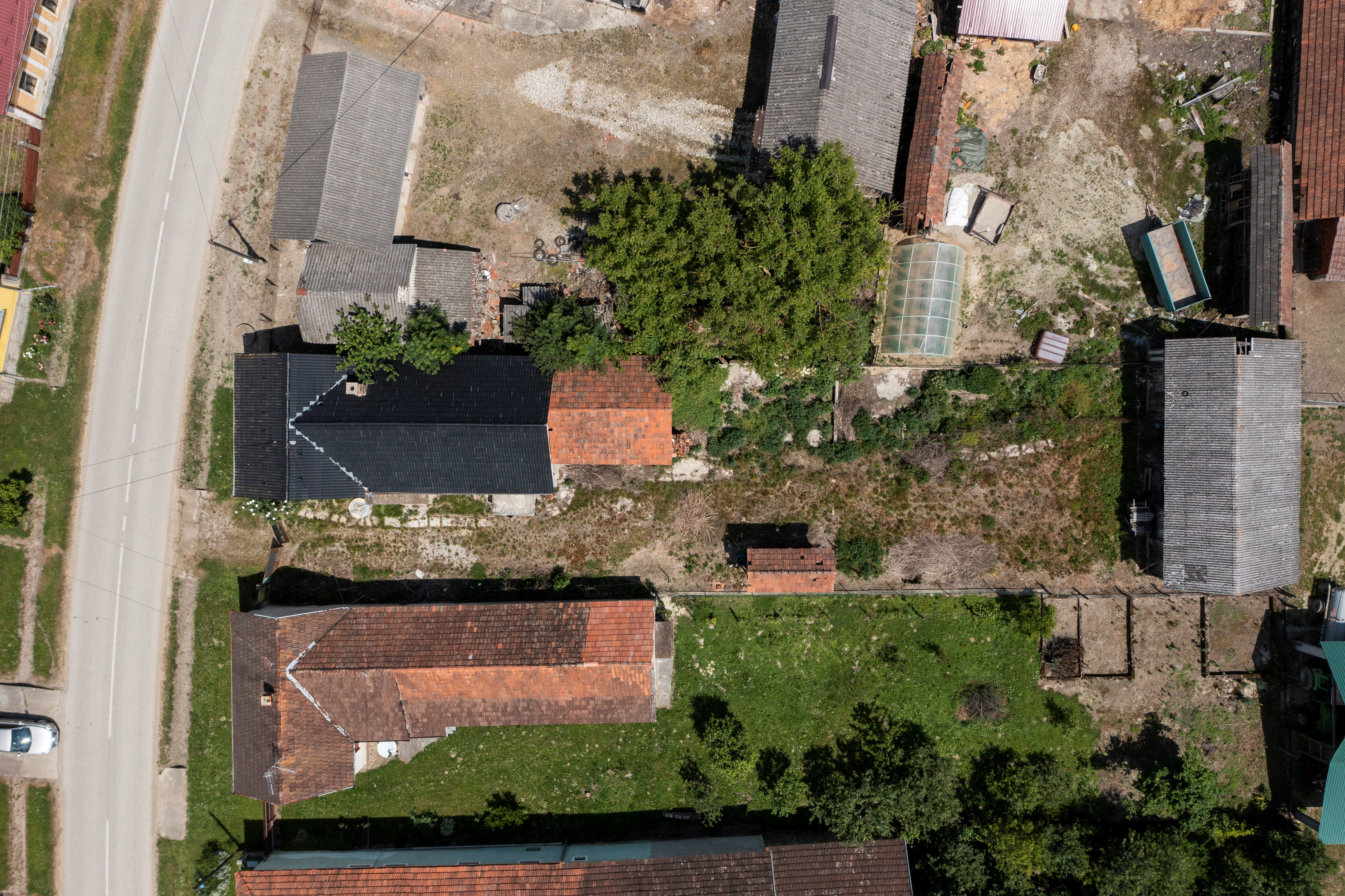 General view of a house for sale for 1 HRK in village Zablatje, Croatia, June 10, 2021. REUTERS/Antonio Bronic