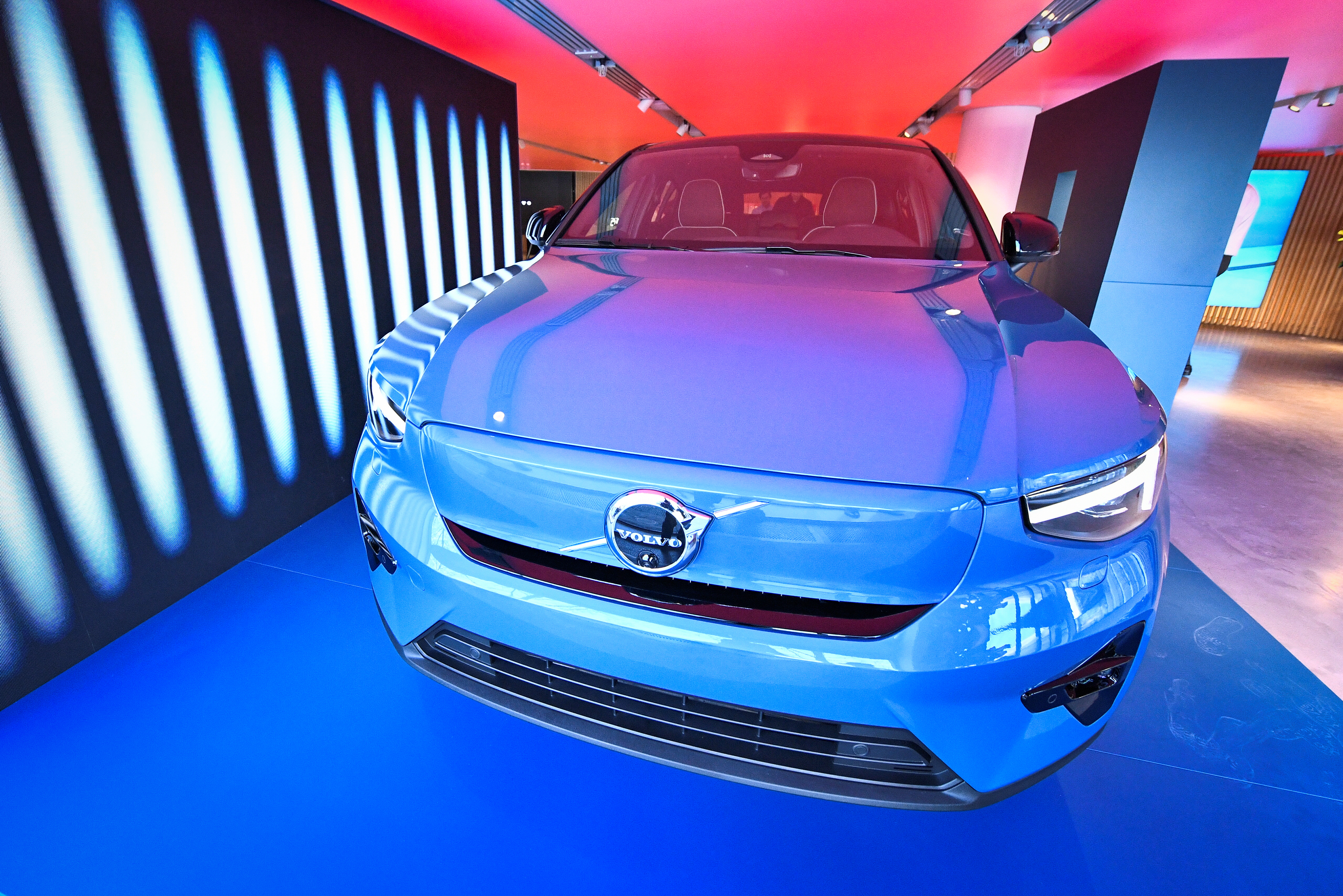 Volvo's new electric car Volvo C40 Recharge is presented in Stockholm, Sweden March 2, 2021. Claudio Breciani/TT News Agency/via REUTERS