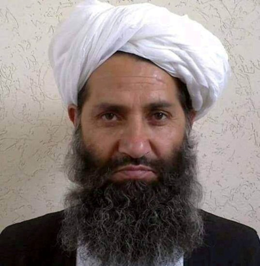 Taliban leader Mullah Haibatullah Akhundzada is seen in an undated photograph, posted on a Taliban twitter feed on May 25, 2016, and identified separately by several Taliban officials, who declined to be named.  Social Media/File Photo
