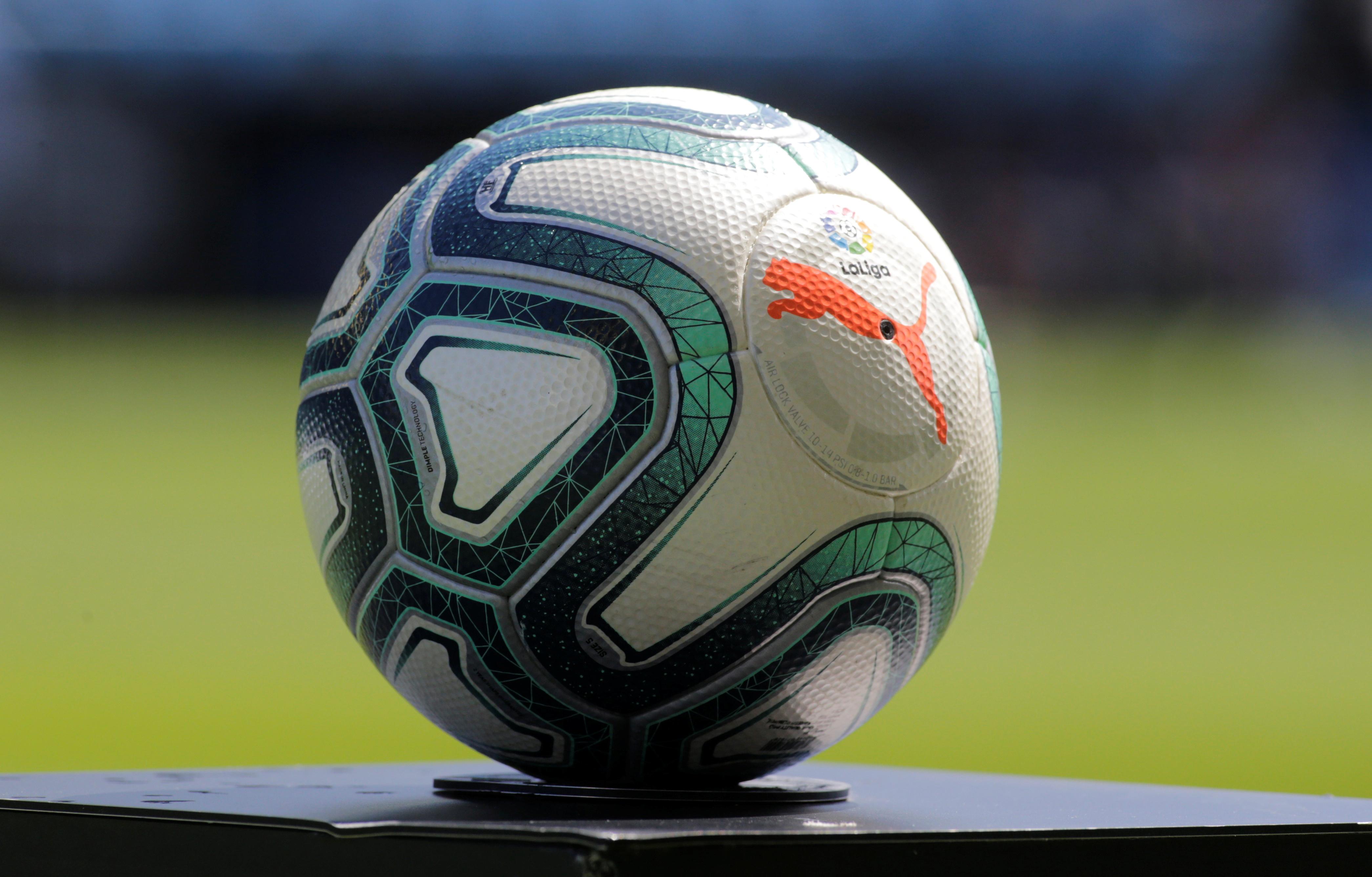 Soccer Football - La Liga Santander - Celta Vigo v Real Madrid - Balaidos, Vigo, Spain - August 17, 2019  General view of ball  REUTERS/Miguel Vidal