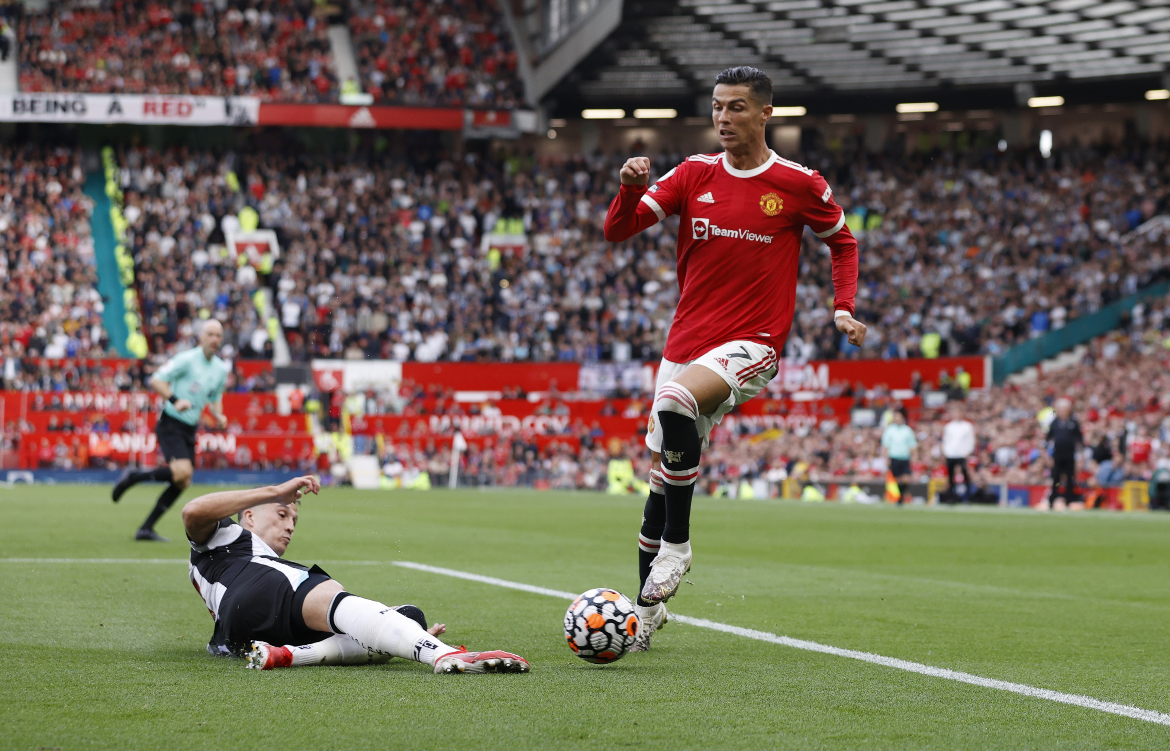 I was super nervous', says Ronaldo after memorable second debut at Man Utd    Reuters