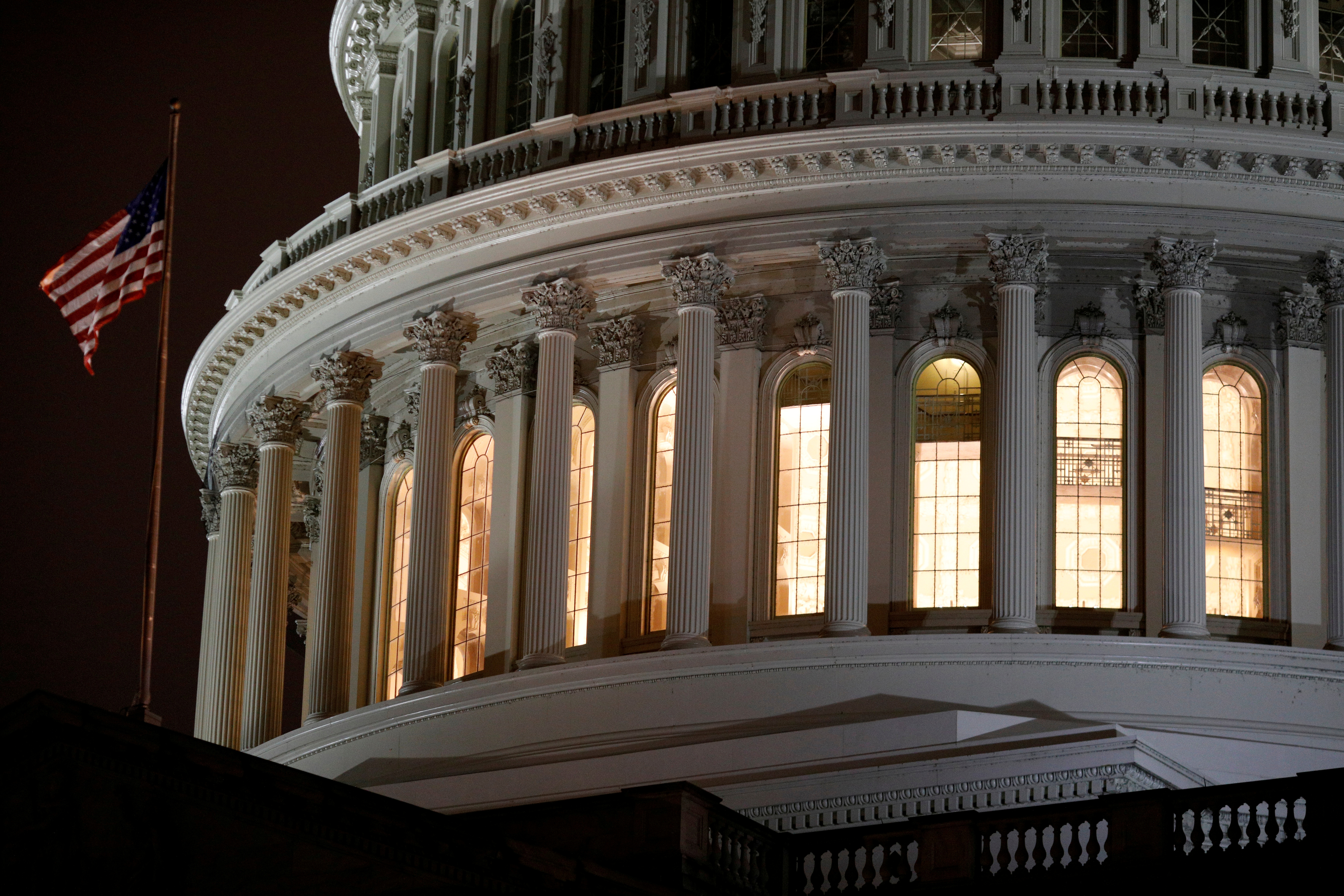 The U.S. Capitol Building on Capitol Hill in Washington, U.S., March 25, 2020. REUTERS/Tom Brenner/File Photo