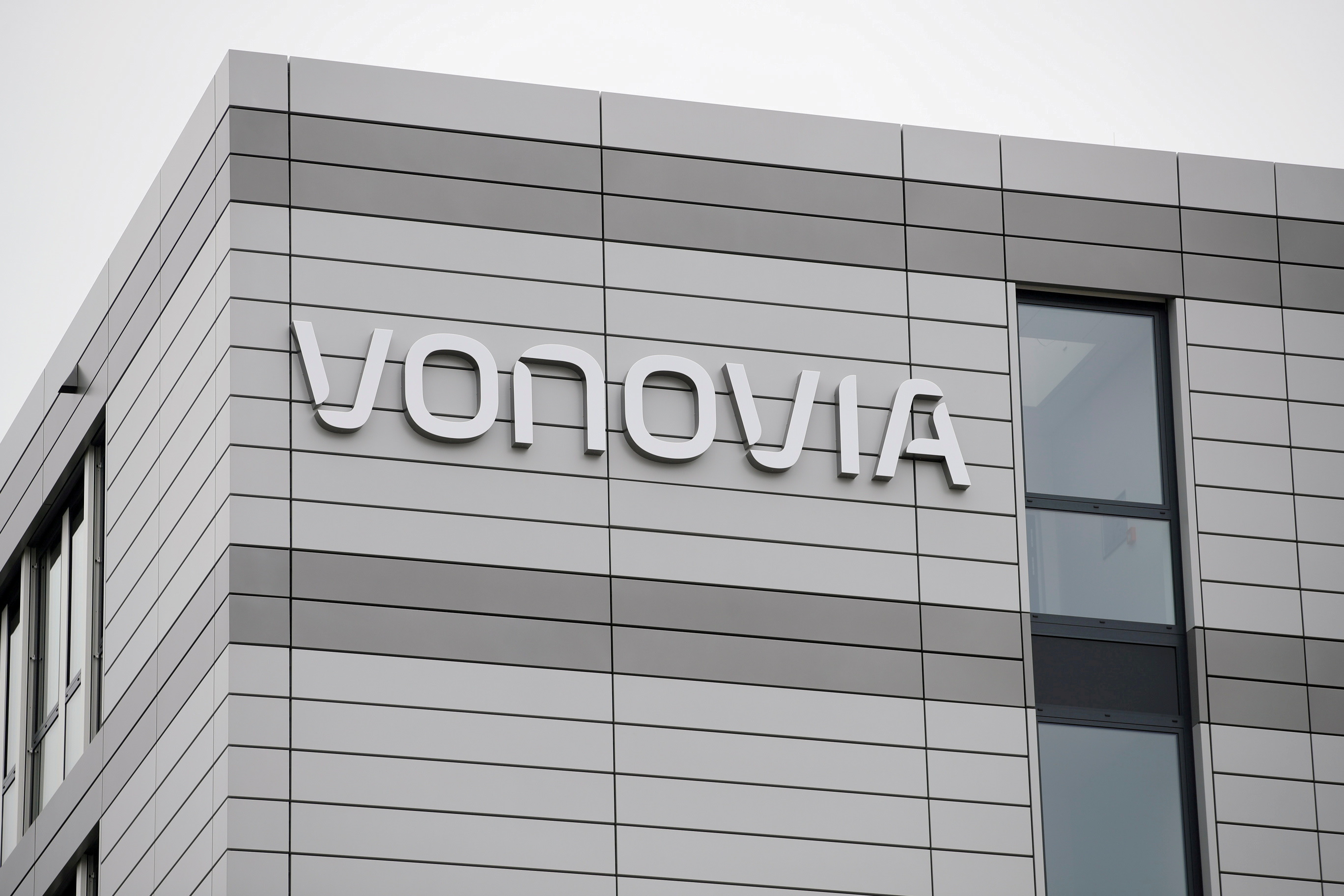 The new headquarters of German real estate company Vonovia is pictured in Bochum, Germany, April 24, 2018. REUTERS/Wolfgang Rattay/File Photo