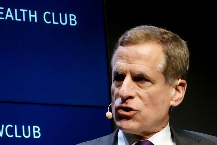 Dallas Federal Reserve Bank President Robert Kaplan speaks at the Commonwealth Club in San Francisco, U.S., October 11, 2019. REUTERS/Ann Saphir