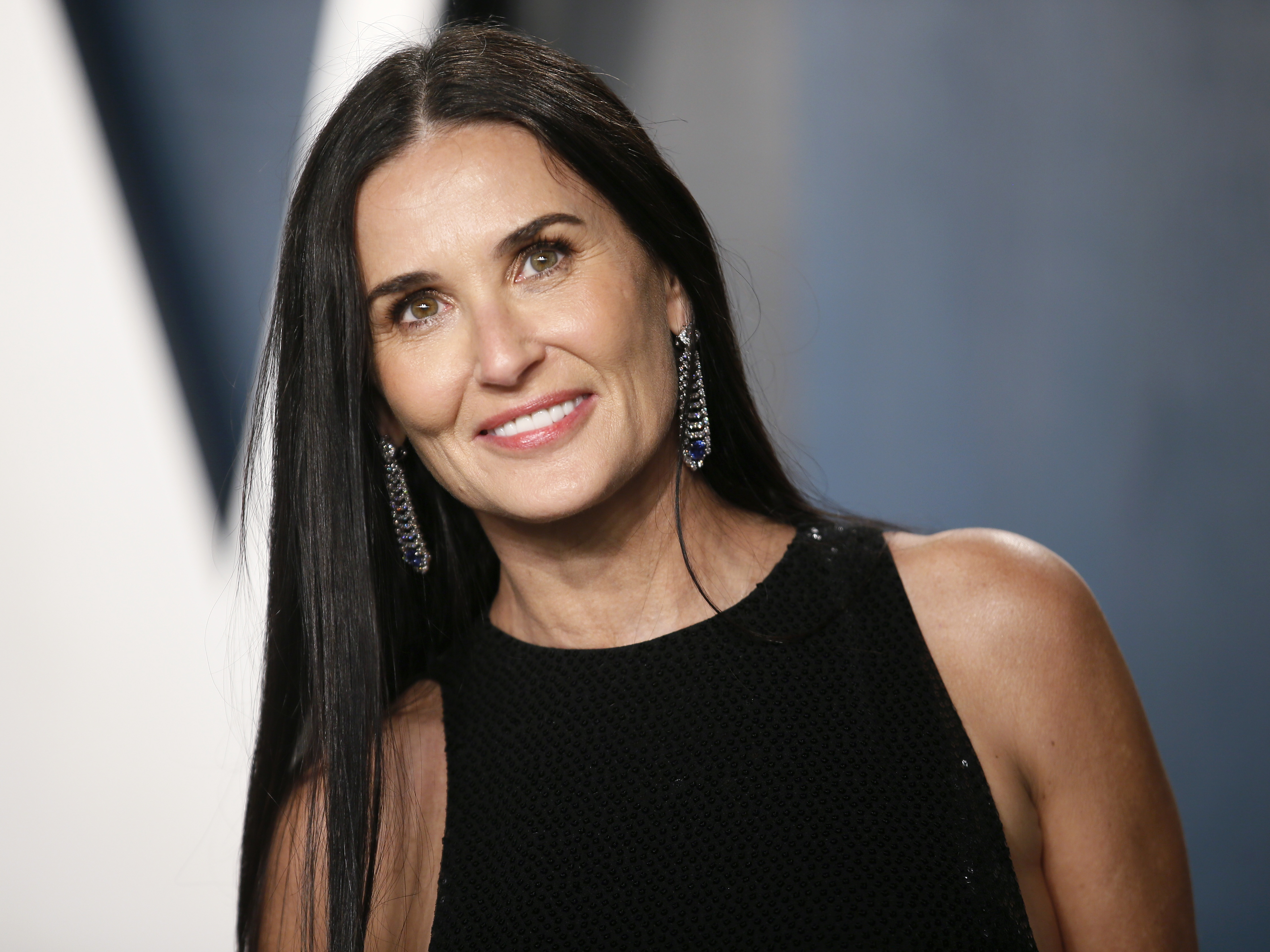 Demi Moore attends the Vanity Fair Oscar party in Beverly Hills during the 92nd Academy Awards, in Los Angeles, California, U.S., February 9, 2020.    REUTERS/Danny Moloshok