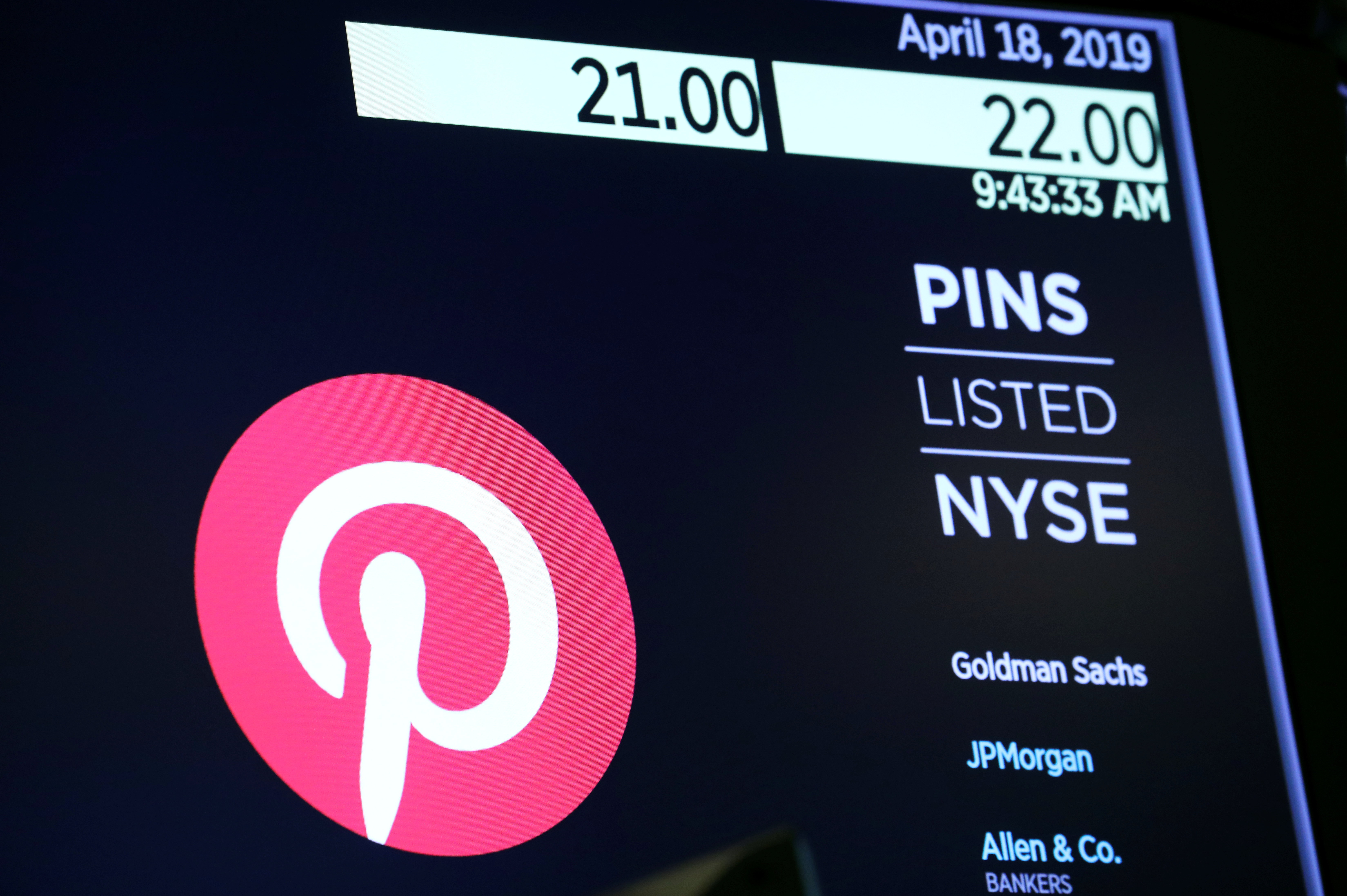 Pinterest's user growth slows as pandemic curbs ease   Reuters