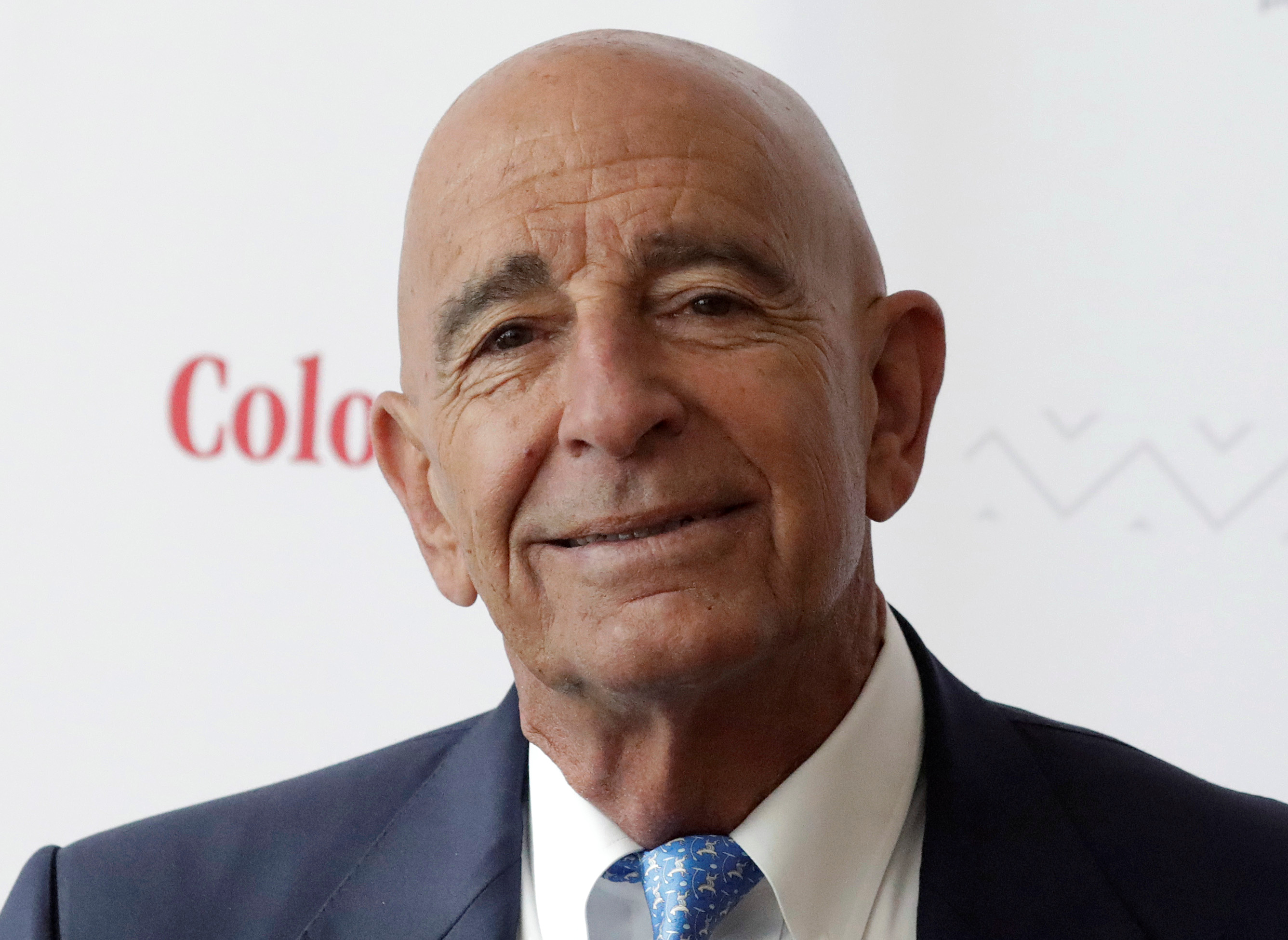 Billionaire real estate investor Thomas Barrack, Chief Executive Officer of Colony Capital, holds a meeting with the media to discuss investment plans in Mexico and Latin America, in Mexico City, Mexico May 22, 2019. REUTERS/Henry Romero