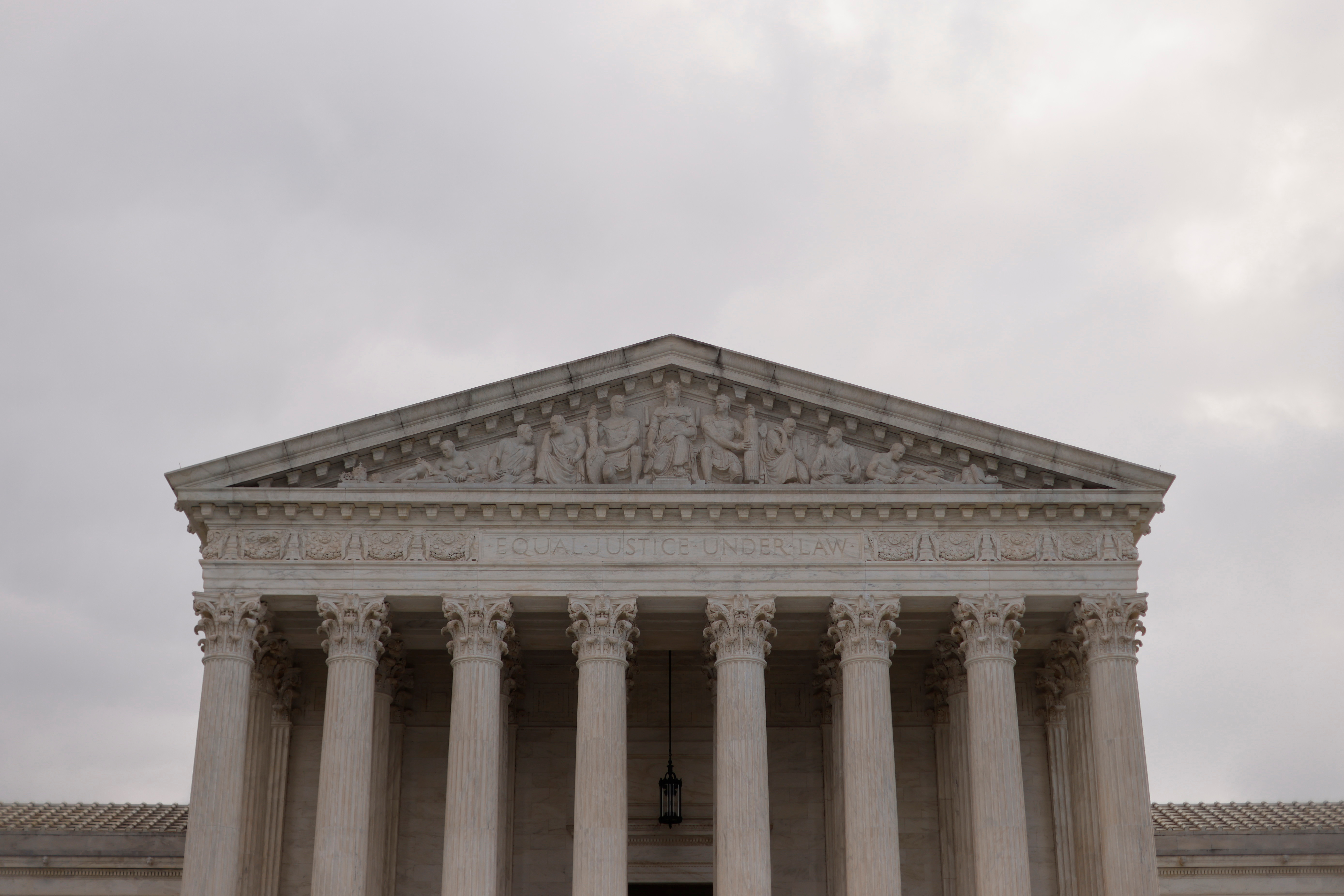 A general view of the U.S. Supreme Court building in Washington. October 13, 2021. REUTERS/Jonathan Ernst
