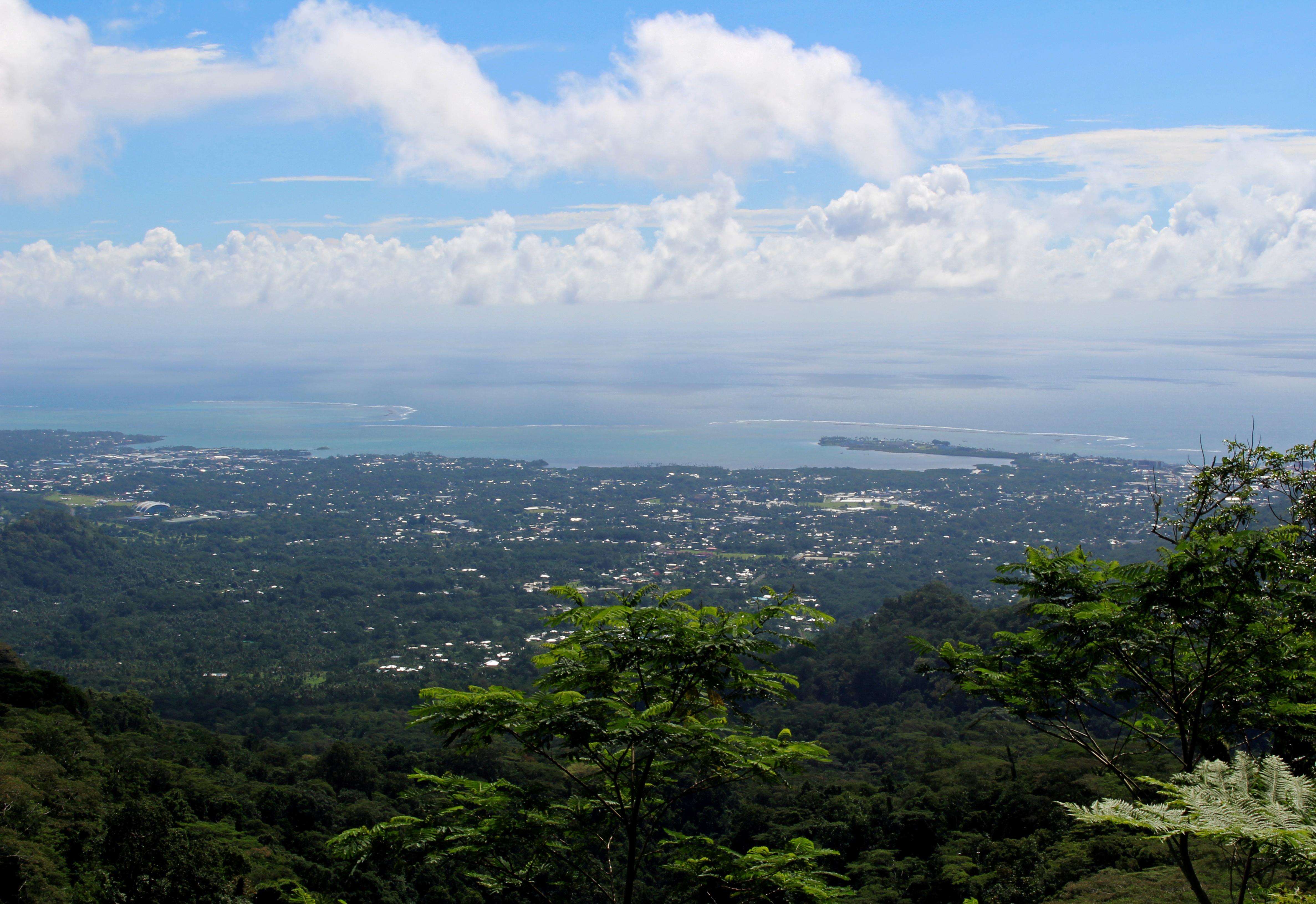 A view of the capital Apia, Samoa, July 12, 2019. REUTERS/Jonathan Barrett