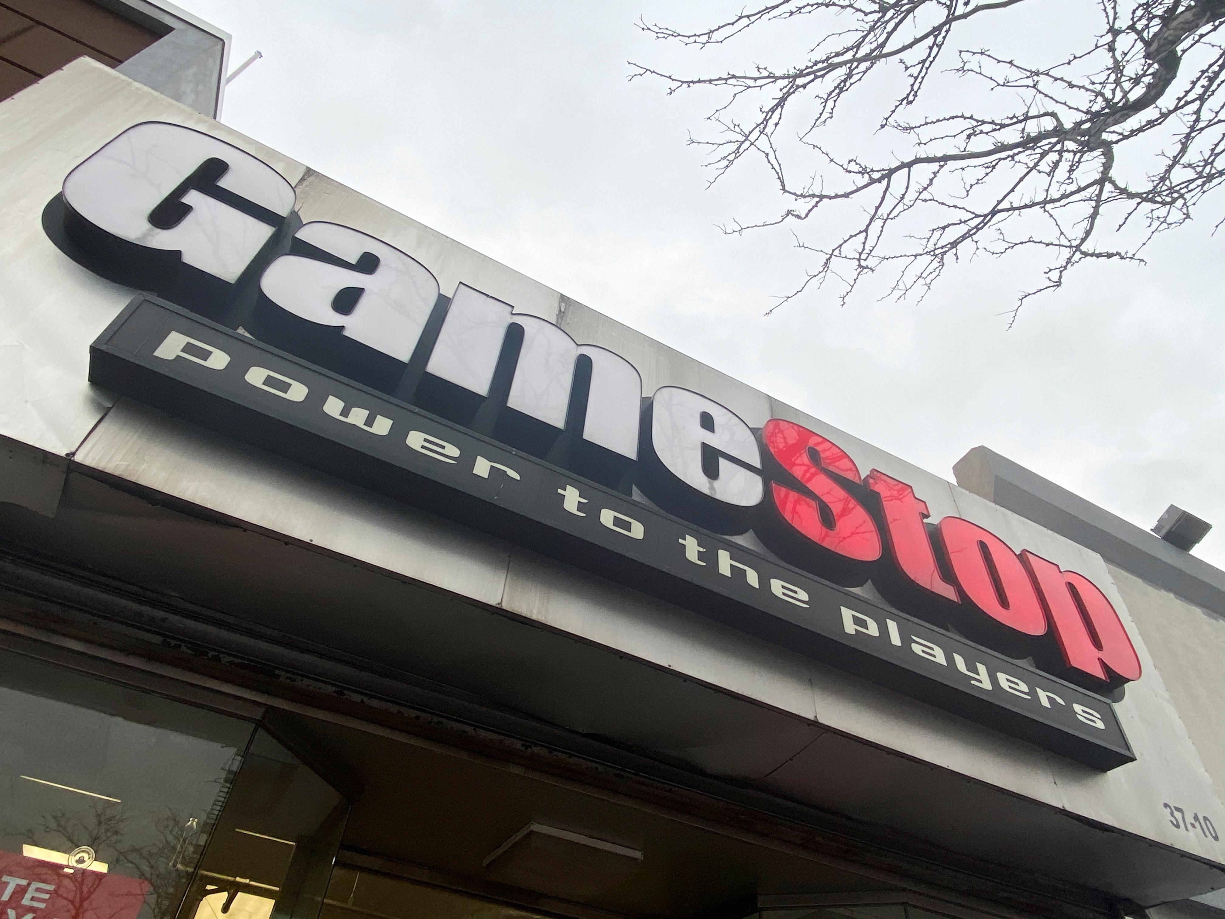 A GameStop store is seen in New York, U.S., January 27, 2021.  REUTERS/Nick Zieminski