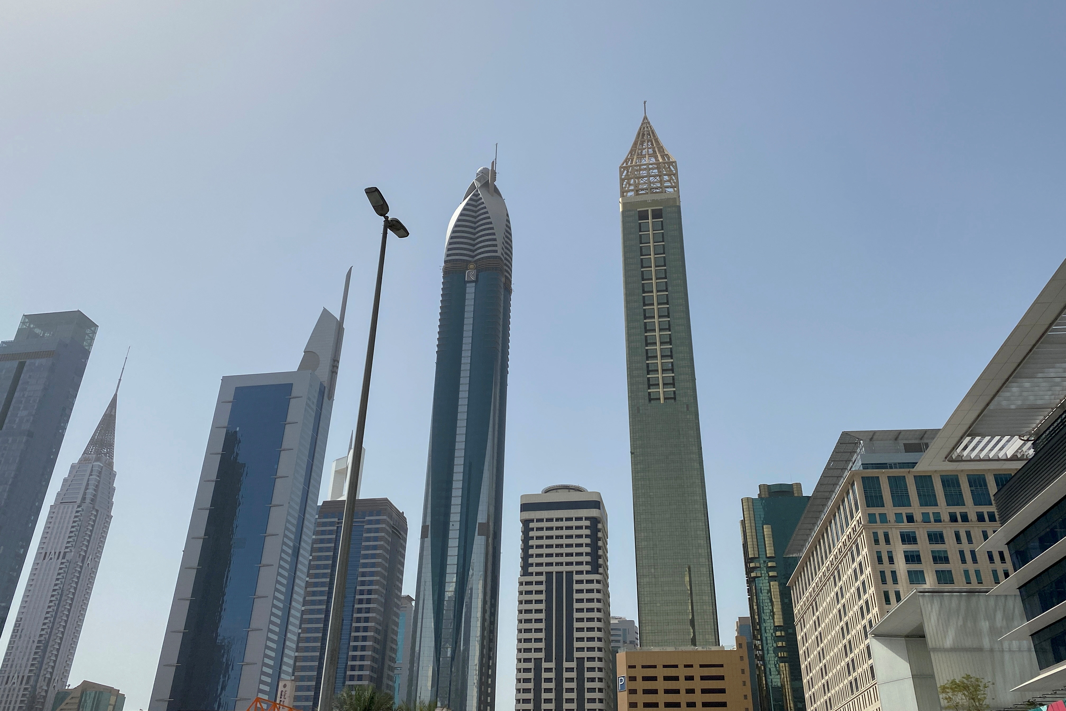 Gevora Hotel is pictured in Dubai, Untited Arab Emirates, March 25, 2021. Picture taken March 25, 2021. REUTERS/Abdel Hadi Ramahi
