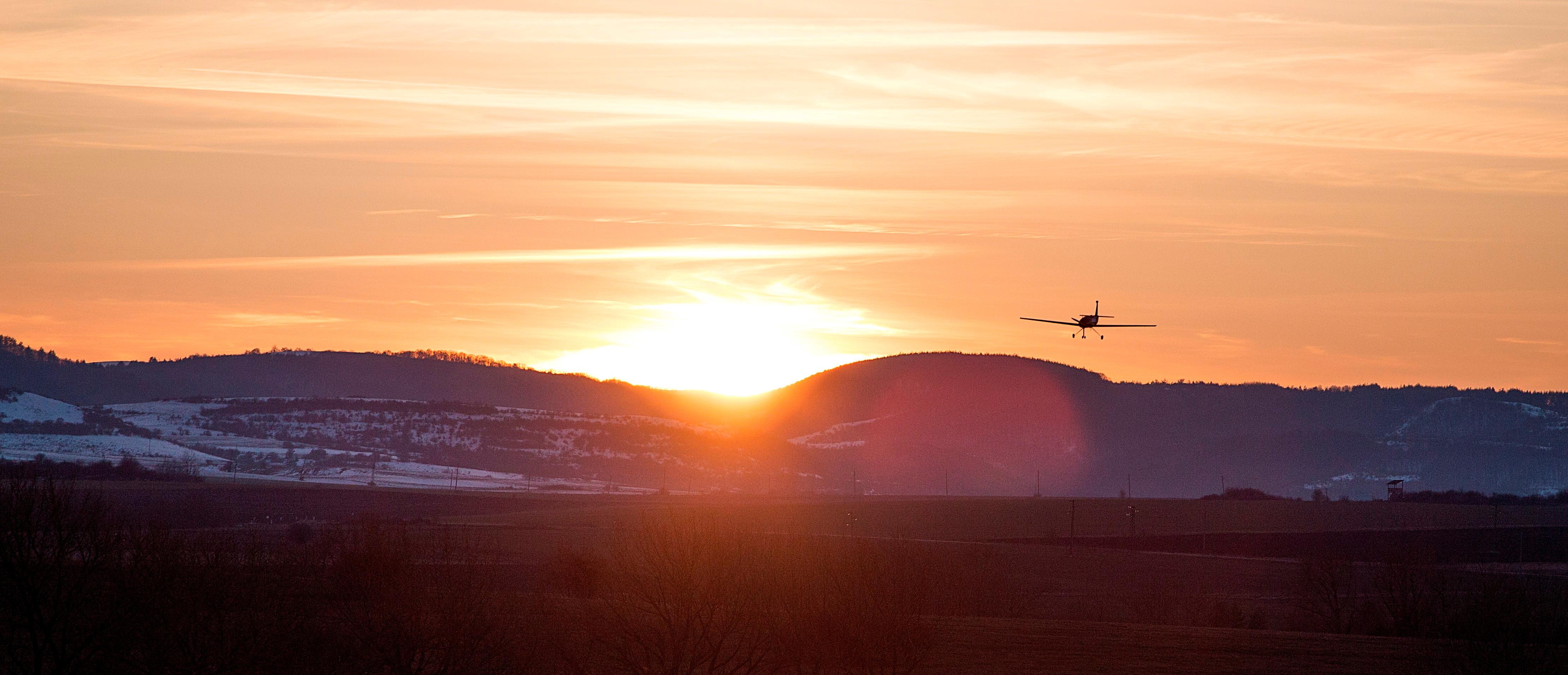 A longer range drone is seen in this handout picture, 2018, Bulgaria.  Dronamics/Handout via REUTERS