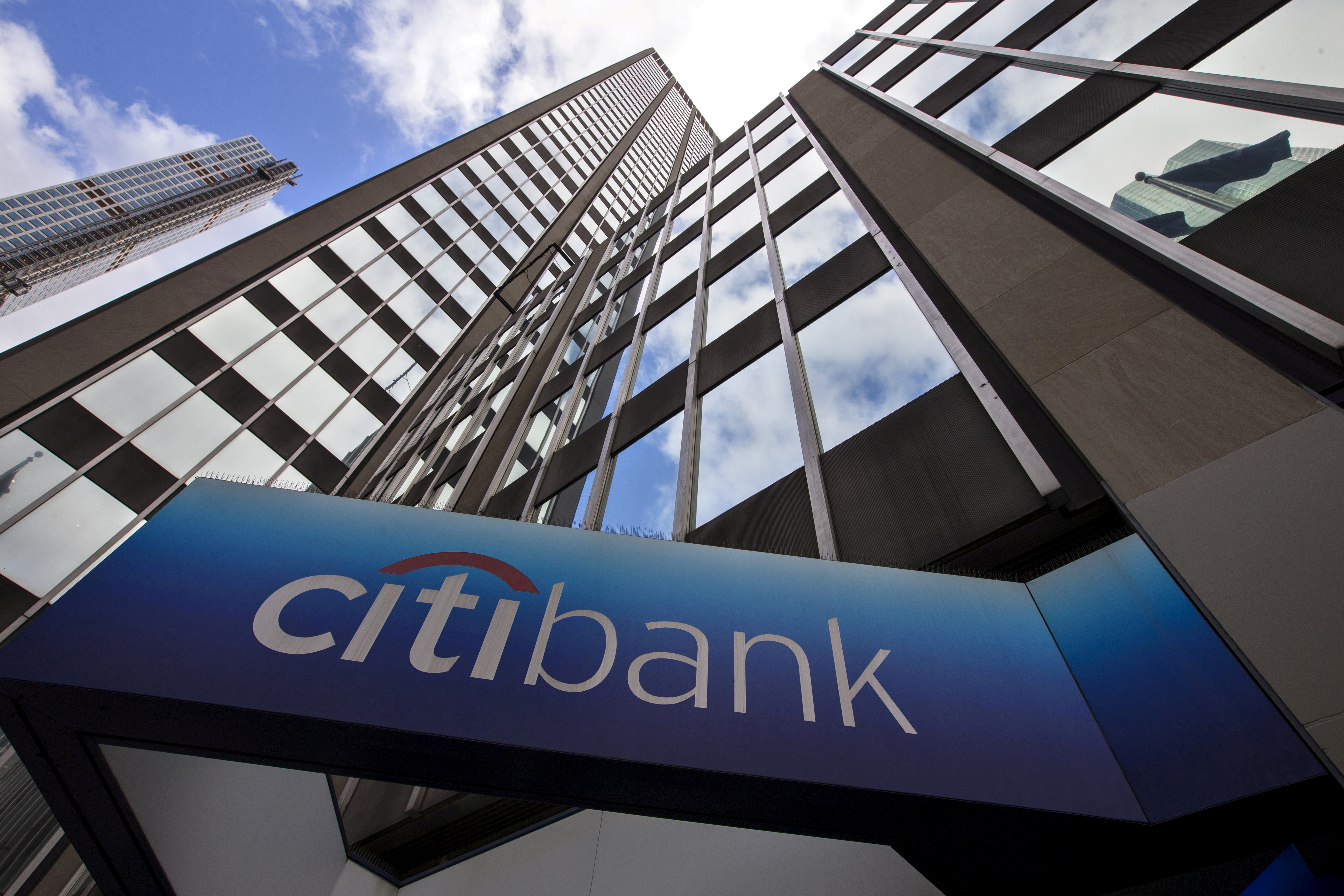 A view of the exterior of the Citibank corporate headquarters in New York, New York, U.S. May 20, 2015.   REUTERS/Mike Segar//File Photo