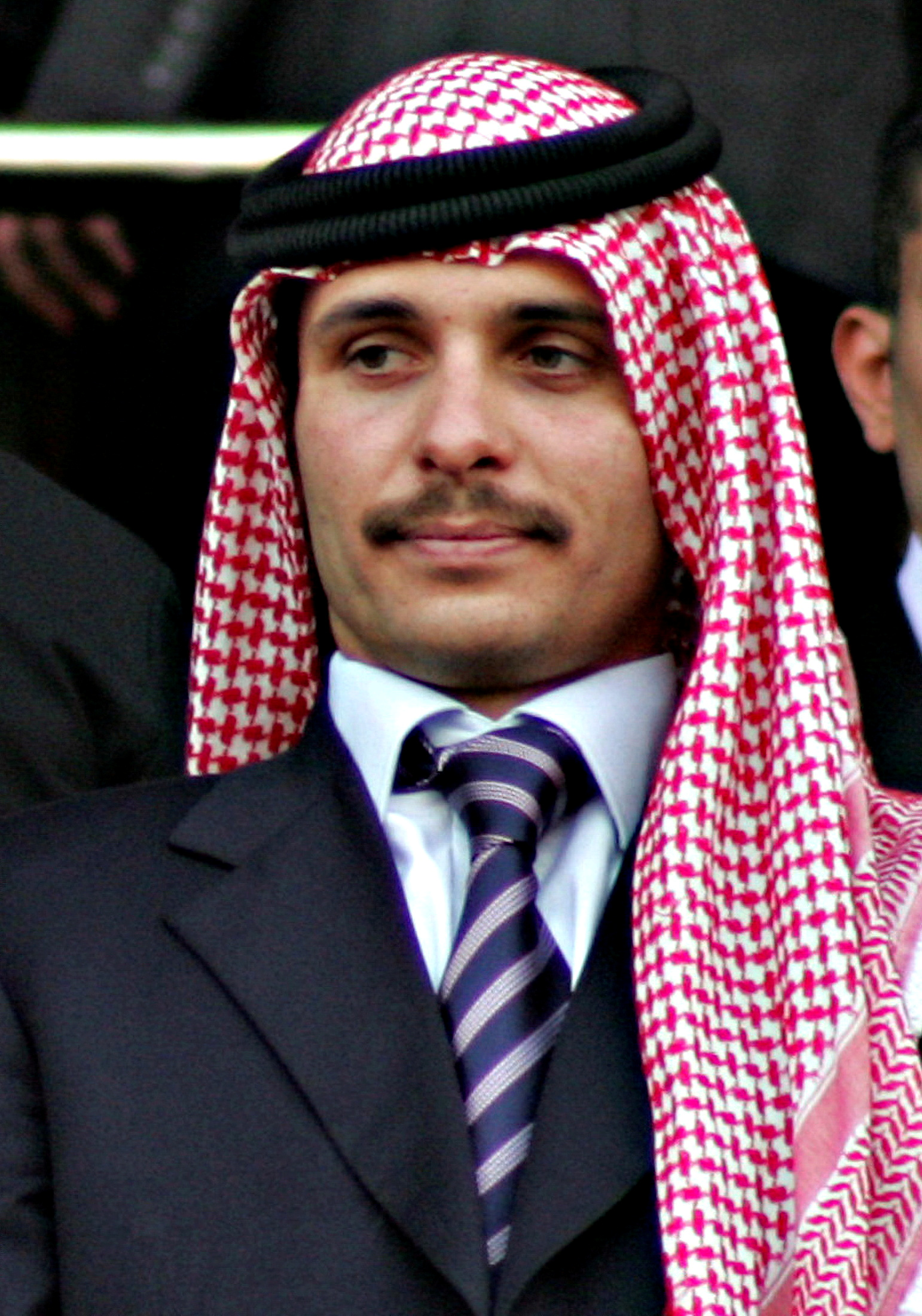 Jordan's former Crown Prince Hamza bin Hussein attends official celebrations of the 10th anniversary of King Abdullah's accession to the throne, in Amman June 9, 2009. REUTERS/Majed Jaber/File Photo