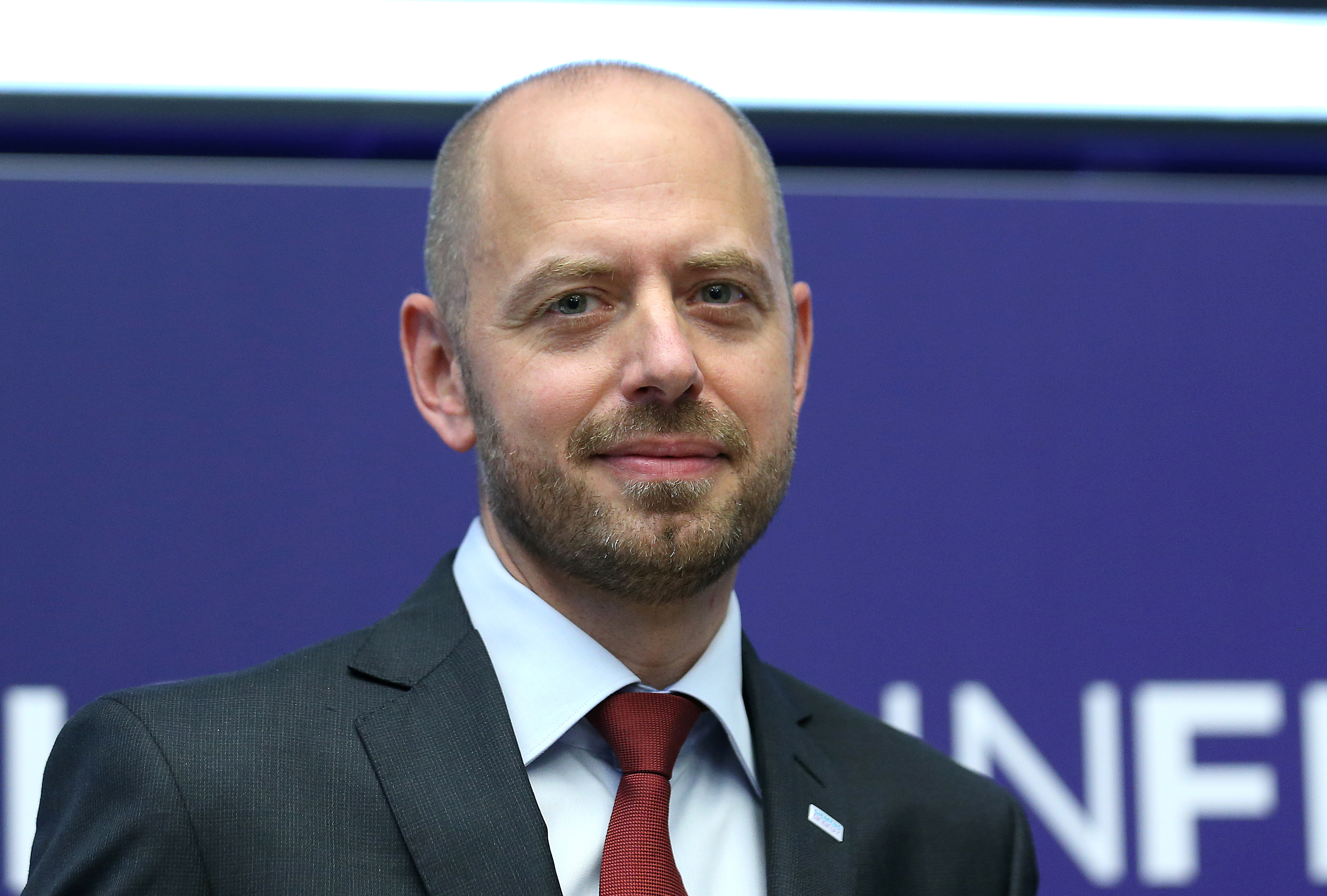 Christian Bruch, Chief Executive Officer of Siemens Energy AG attends Siemens Energy's initial public offering (IPO) at the Frankfurt Stock Exchange in Frankfurt, Germany, September 28, 2020.     REUTERS/Ralph Orlowski
