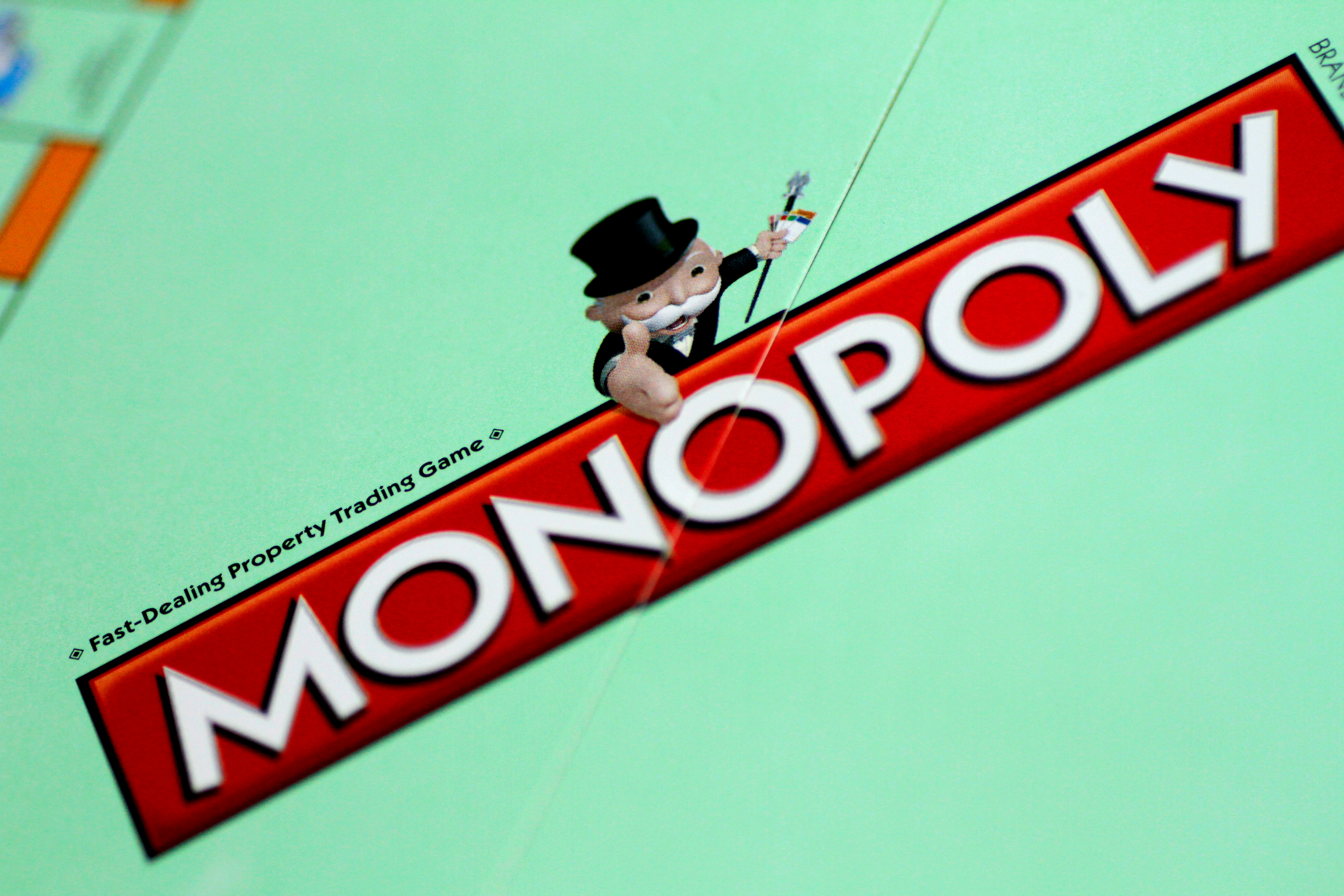 A Monopoly board game by Hasbro Gaming is seen in this illustration photo August 13, 2017. REUTERS/Thomas White/Illustration