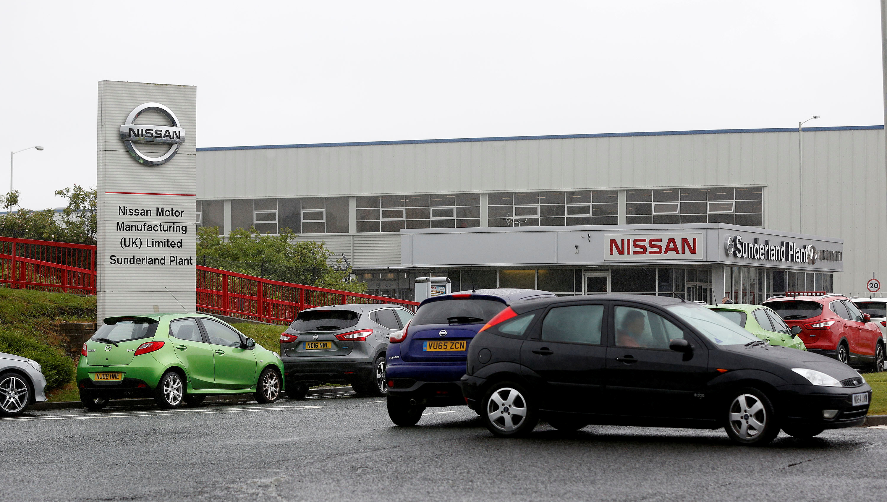 A general view of the Nissan factory in Sunderland, Britain June 29, 2016. Picture taken June 29, 2016. REUTERS/Andrew Yates
