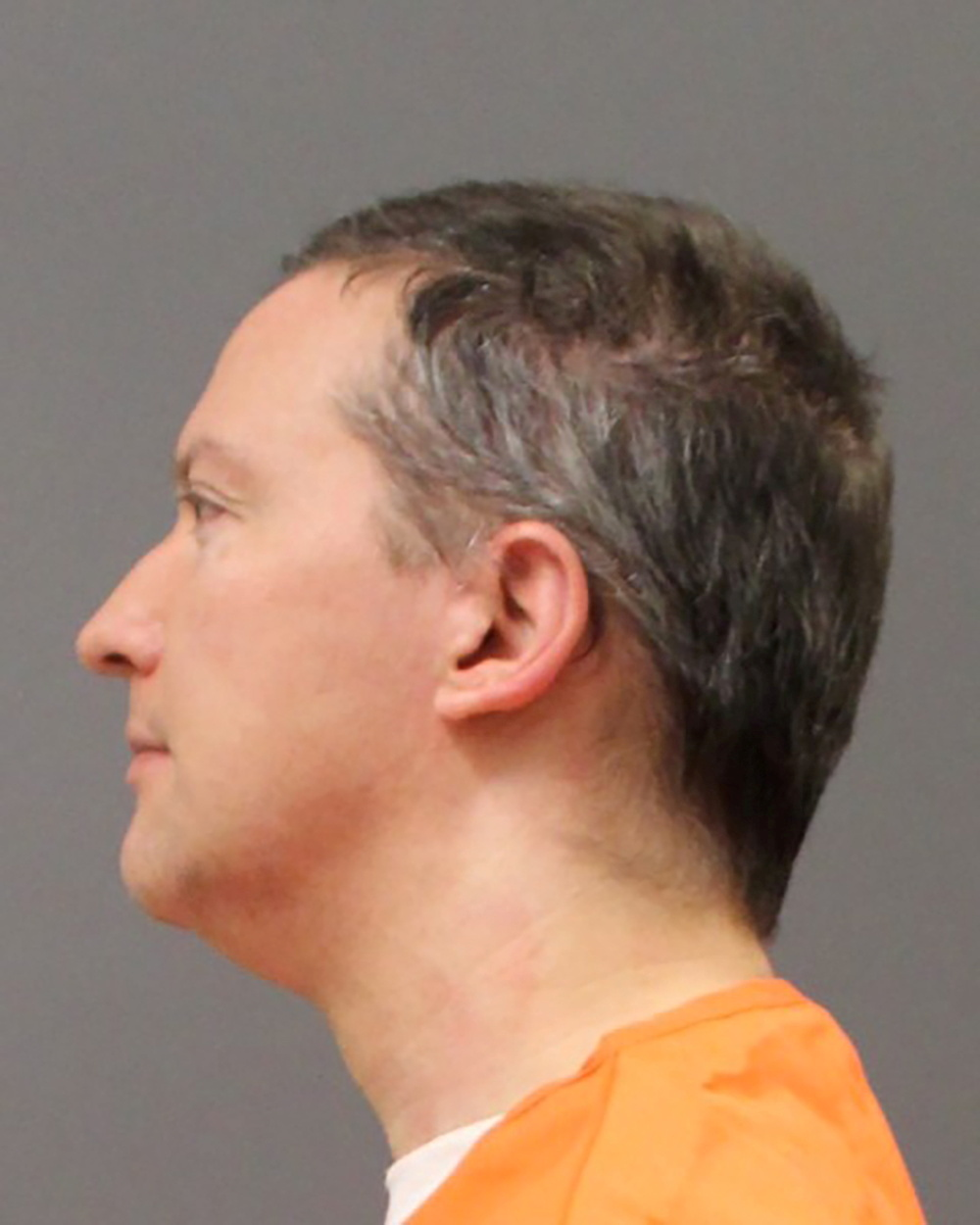 Former Minneapolis Police Officer Derek Chauvin is shown in this police booking photo after a jury found him guilty on all counts in his trial for second-degree murder, third-degree murder and second-degree manslaughter in the death of George Floyd in Minneapolis, Minnesota, U.S. April 20, 2021. Minnesota Department of Corrections/Handout via REUTERS