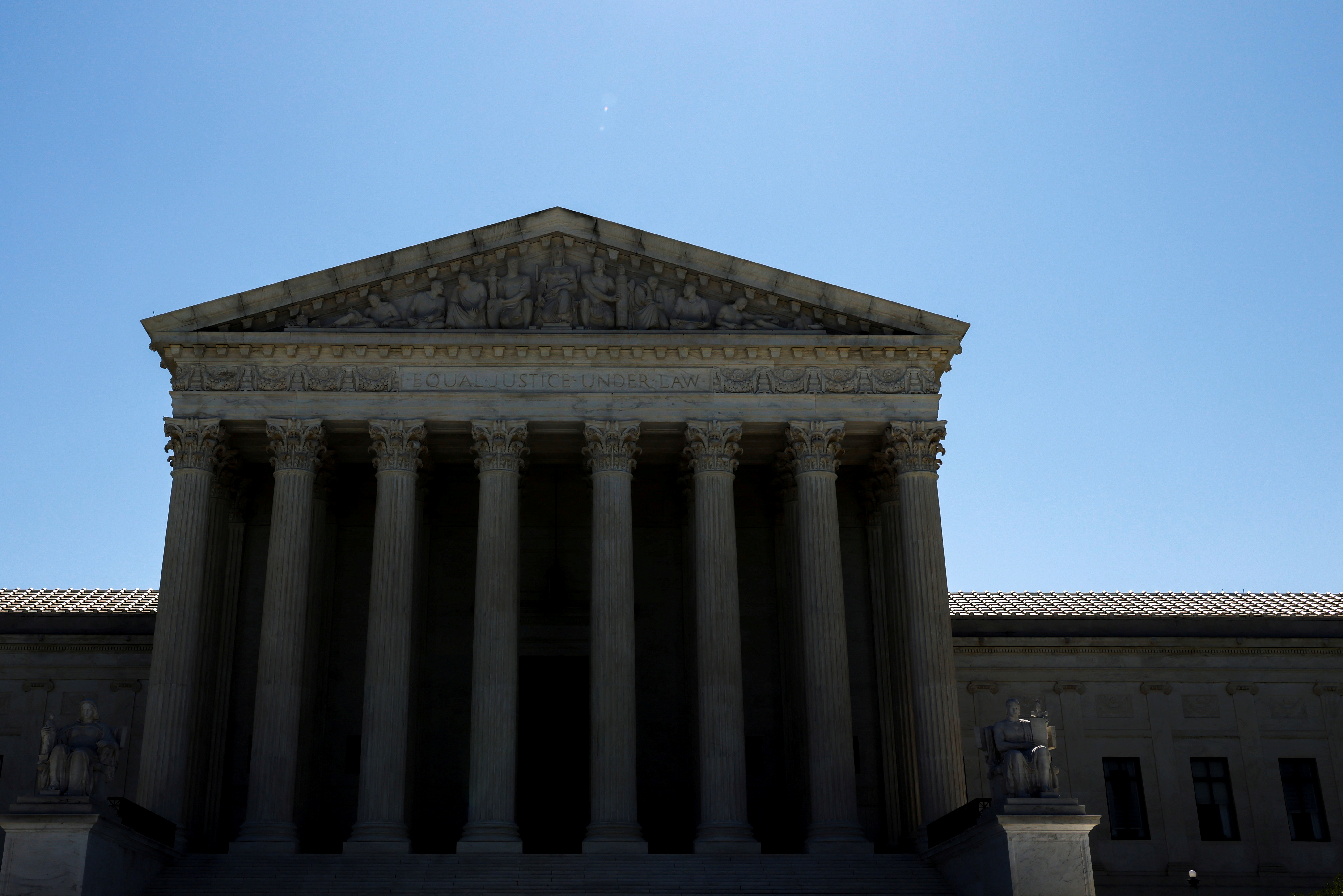 A general view of the U.S Supreme Court building in Washington, U.S. June 17, 2021.  REUTERS/Jonathan Ernst/File Photo